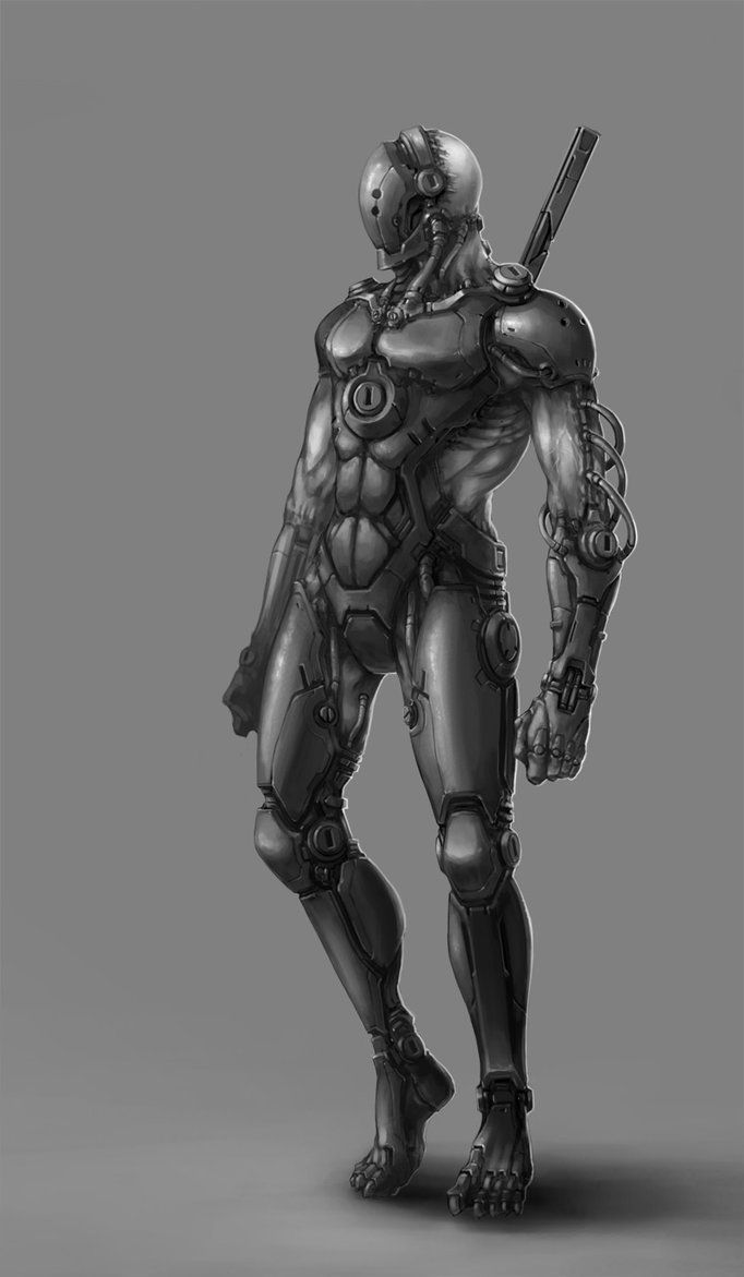 Image result for awesome cyborg