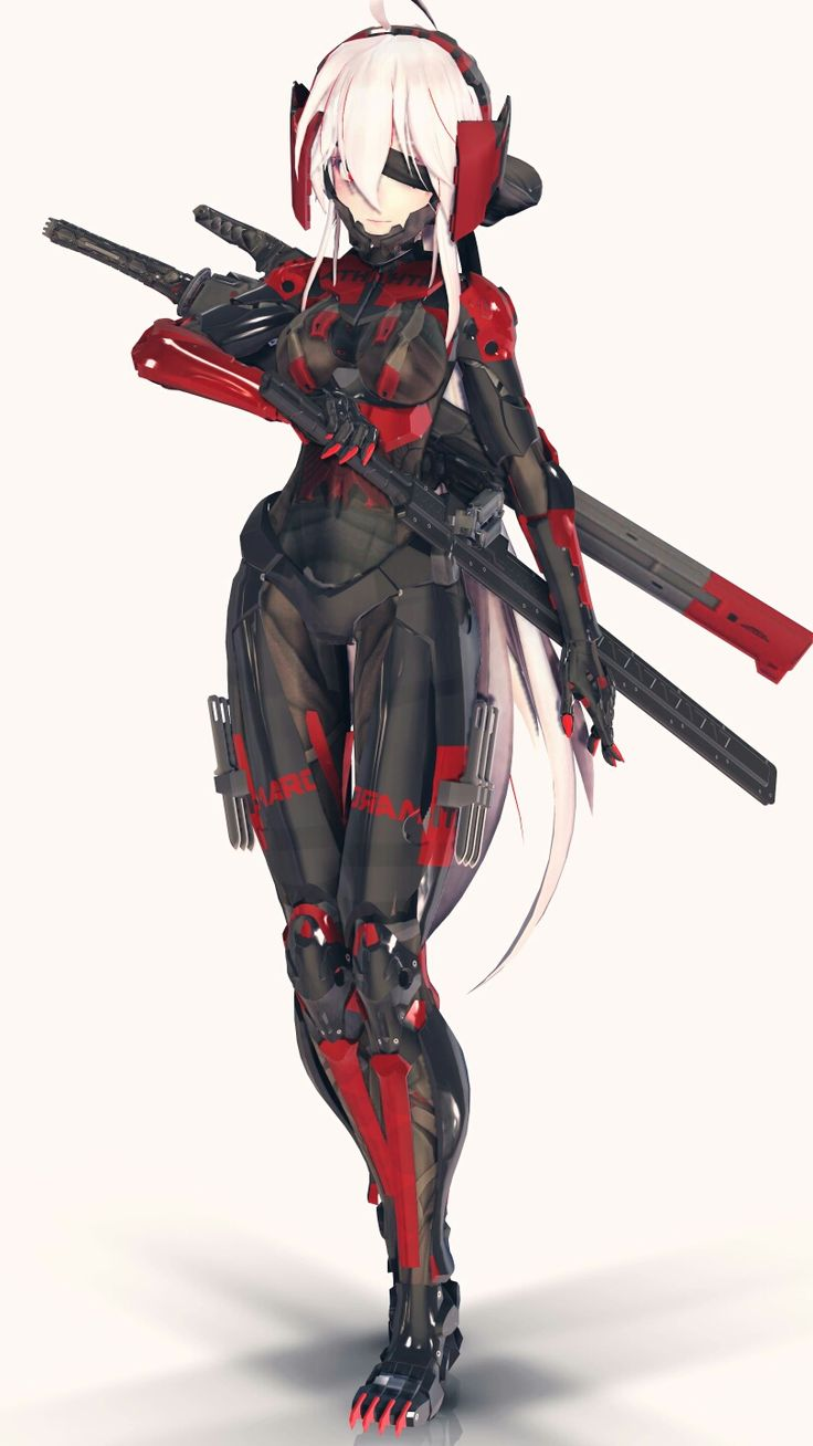 Female Cyborg Ninja Wallpapers - Top Free Female Cyborg ...