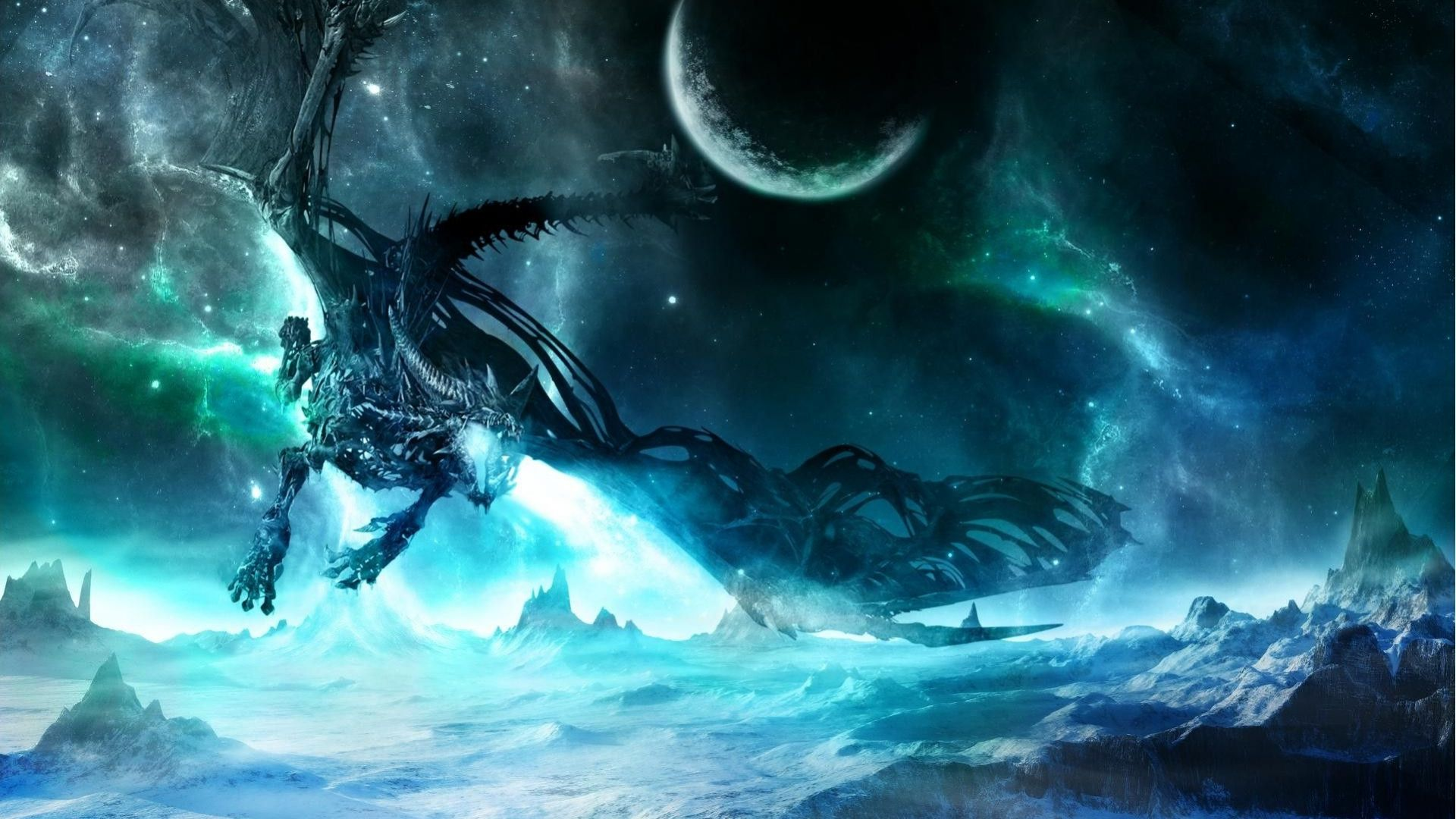 Galaxy Dragon Wallpapers Top Free Galaxy Dragon Backgrounds Wallpaperaccess