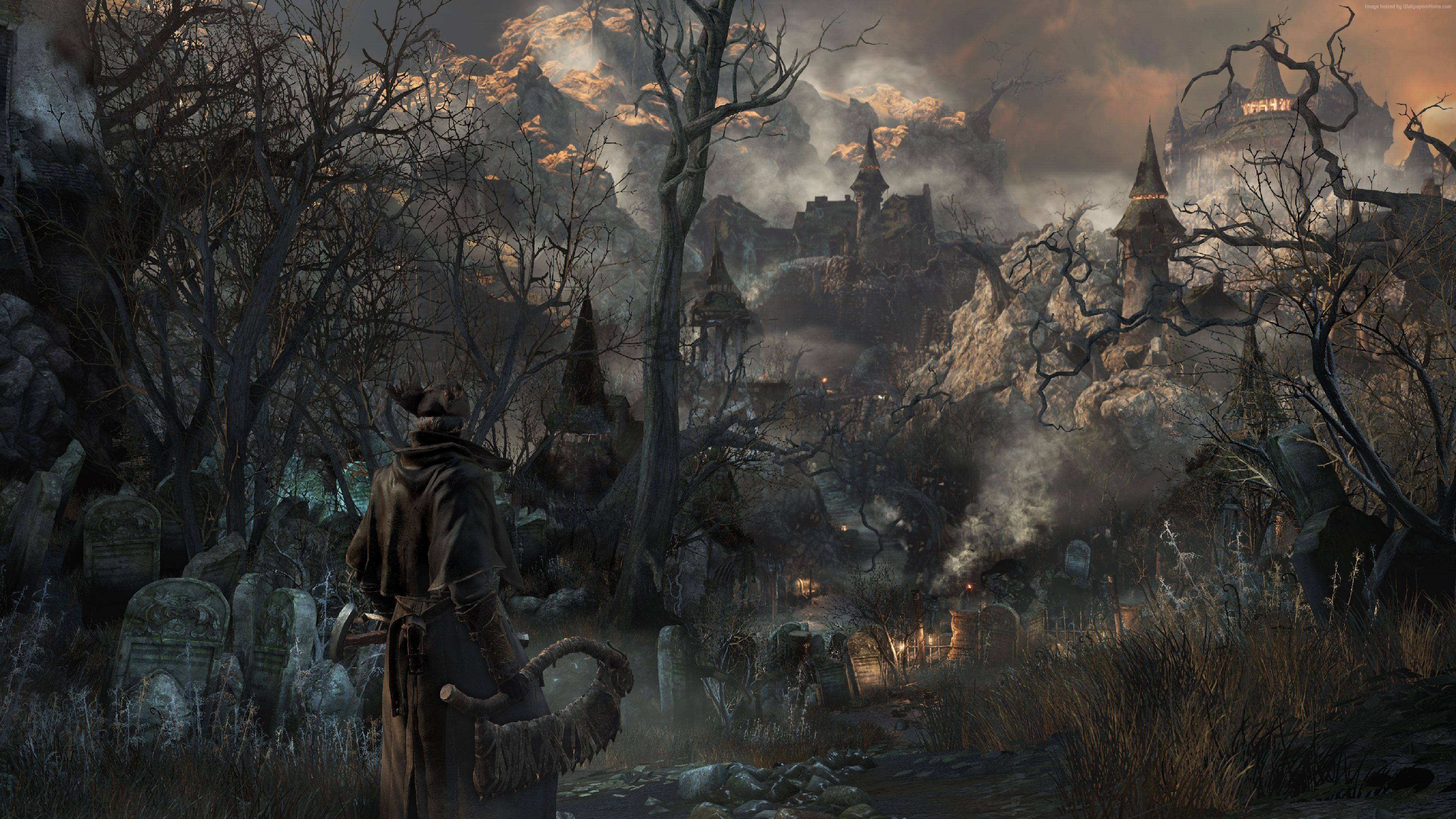 Bloodborne City Wallpapers Top Free Bloodborne City Backgrounds