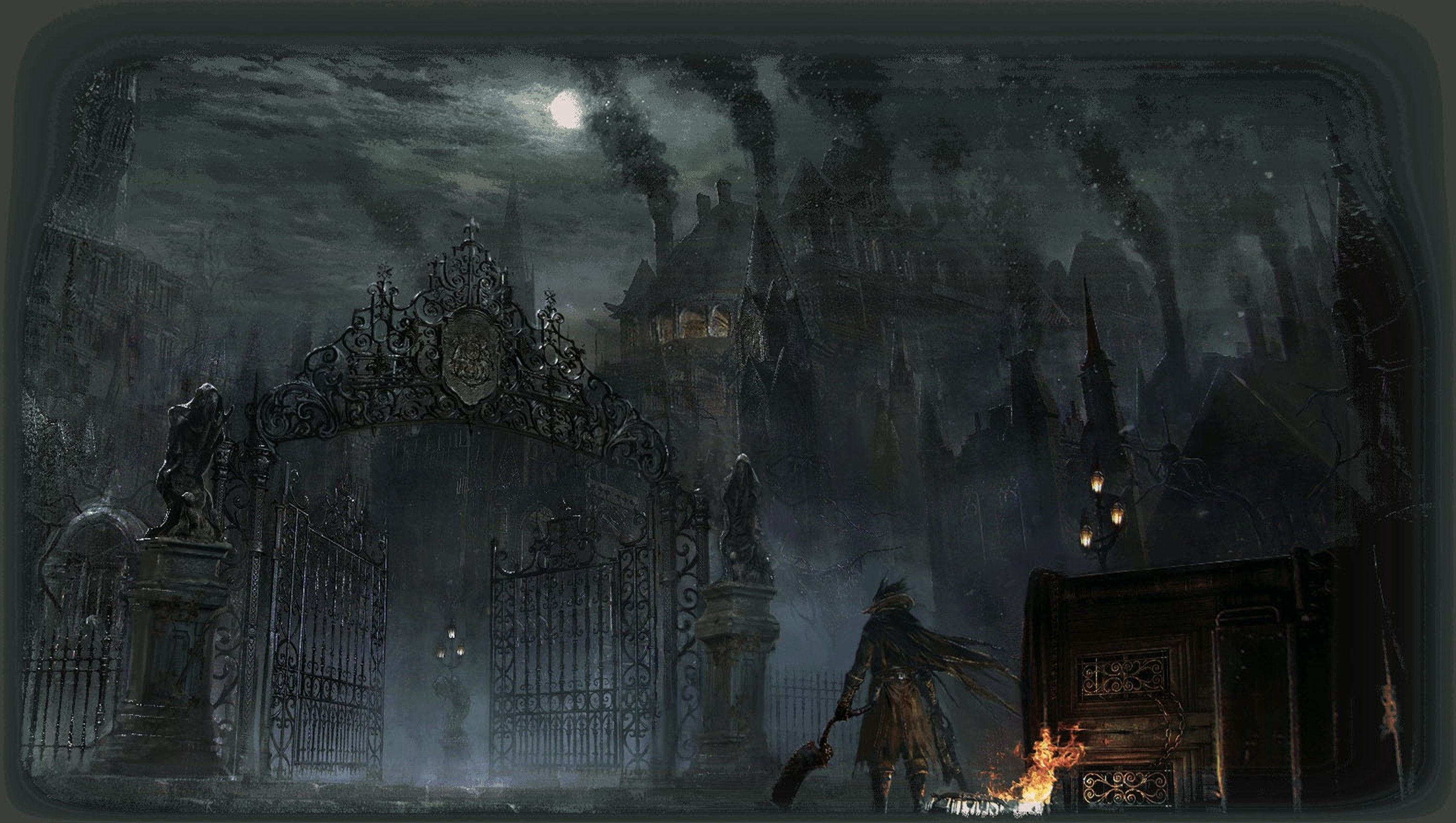 Bloodborne Wallpapers Top Free Bloodborne Backgrounds Wallpaperaccess