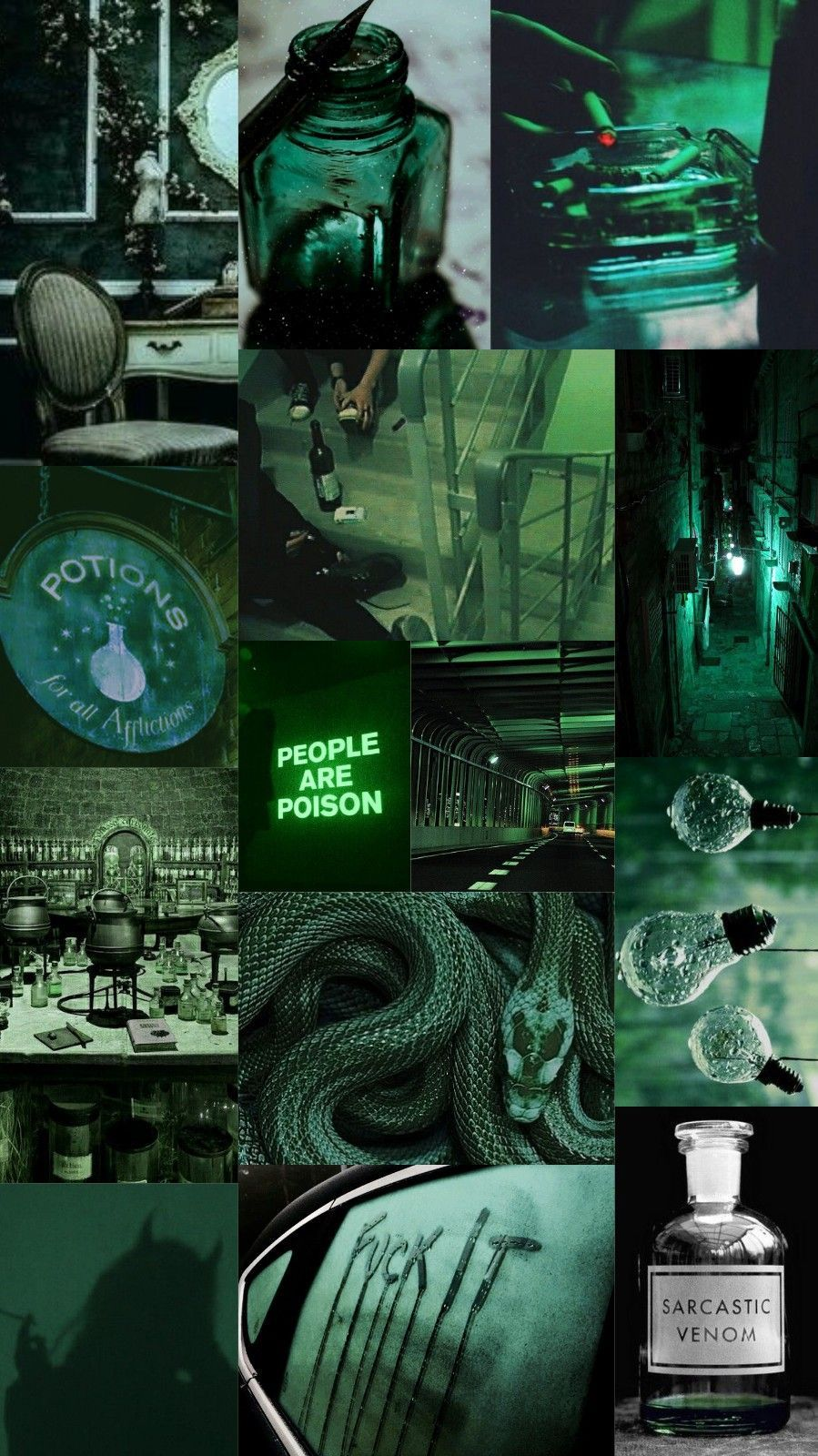 cool green aesthetic wallpapers