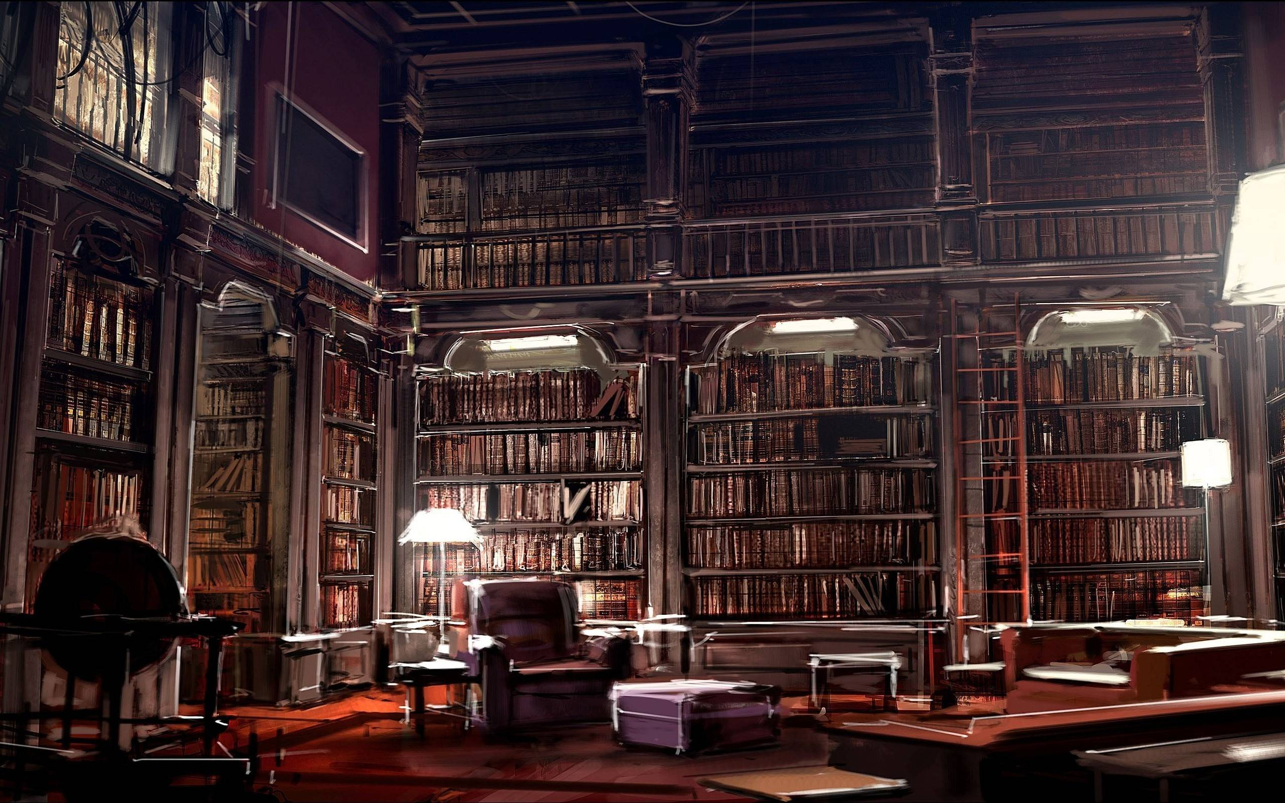 Stupendous Library Wallpapers Top Free Library Backgrounds Home Interior And Landscaping Ologienasavecom