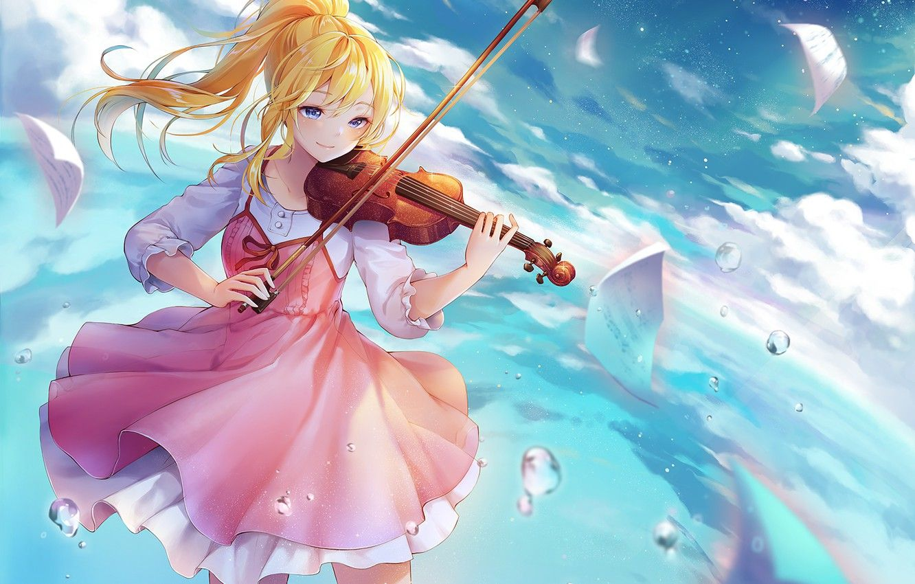 Anime Violin Wallpapers - Top Free Anime Violin Backgrounds