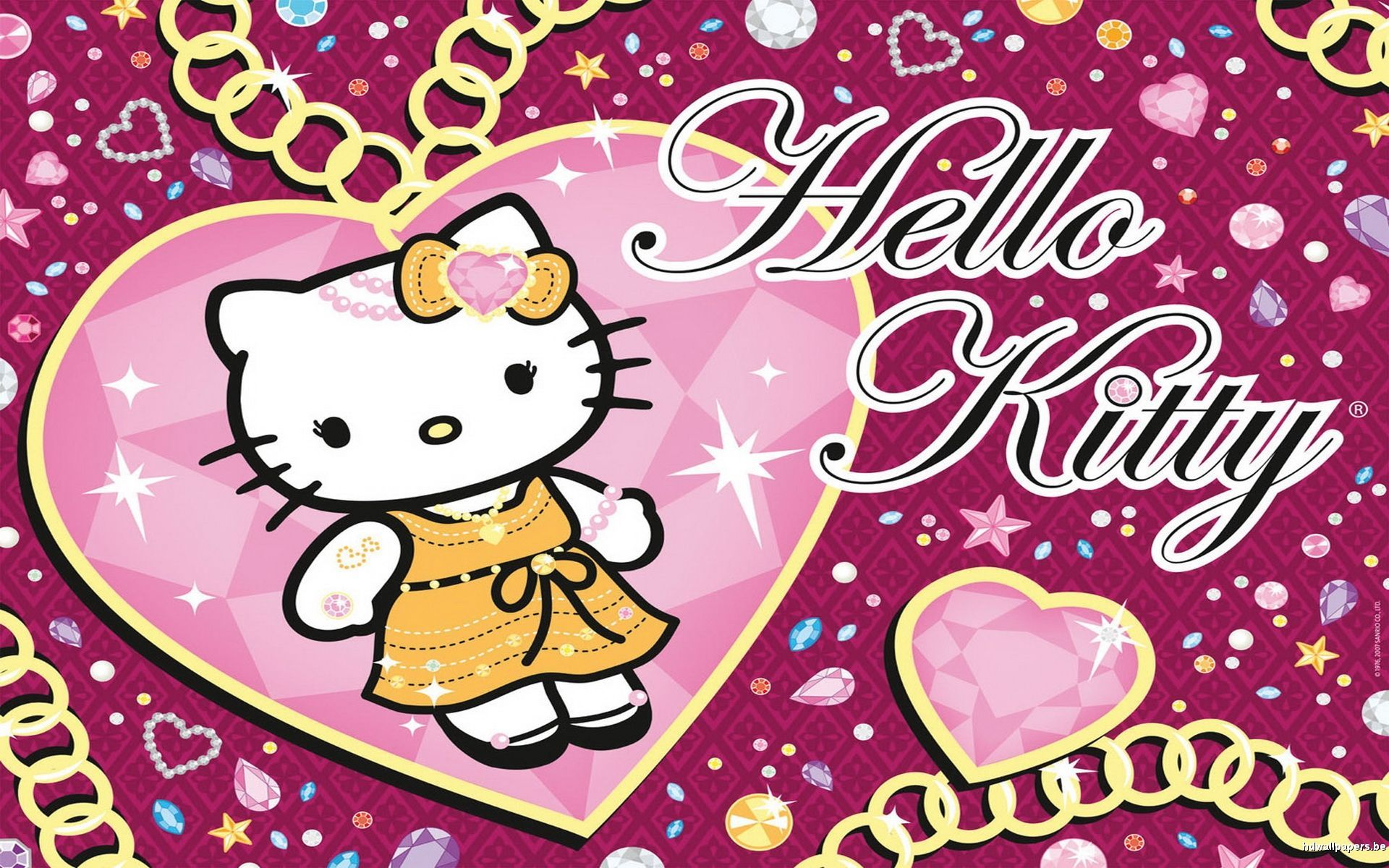 I Love Hello Kitty Wallpapers Top Free I Love Hello Kitty Backgrounds Wallpaperaccess