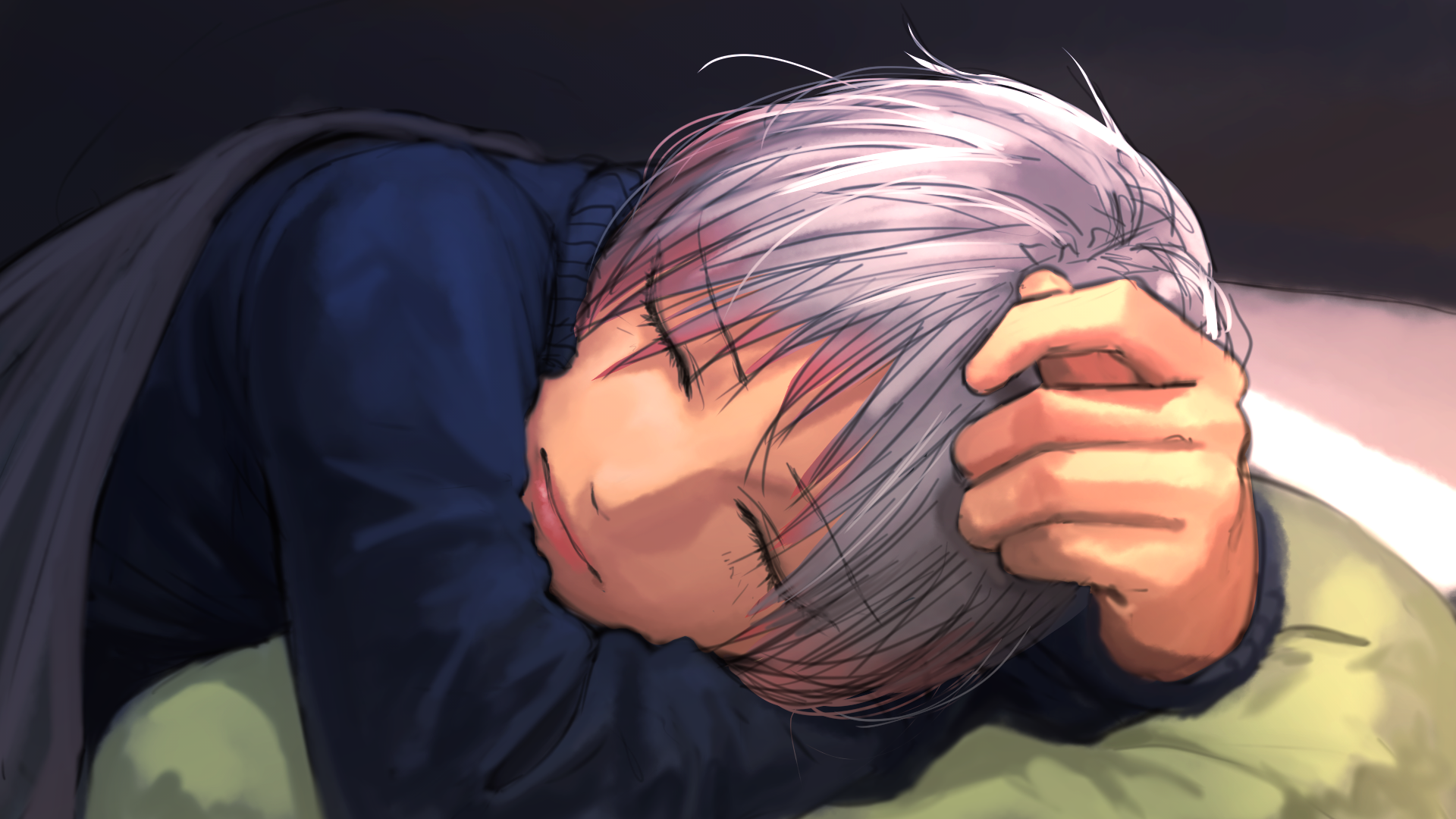 Sleeping Anime Wallpapers Top Free Sleeping Anime Backgrounds Wallpaperaccess