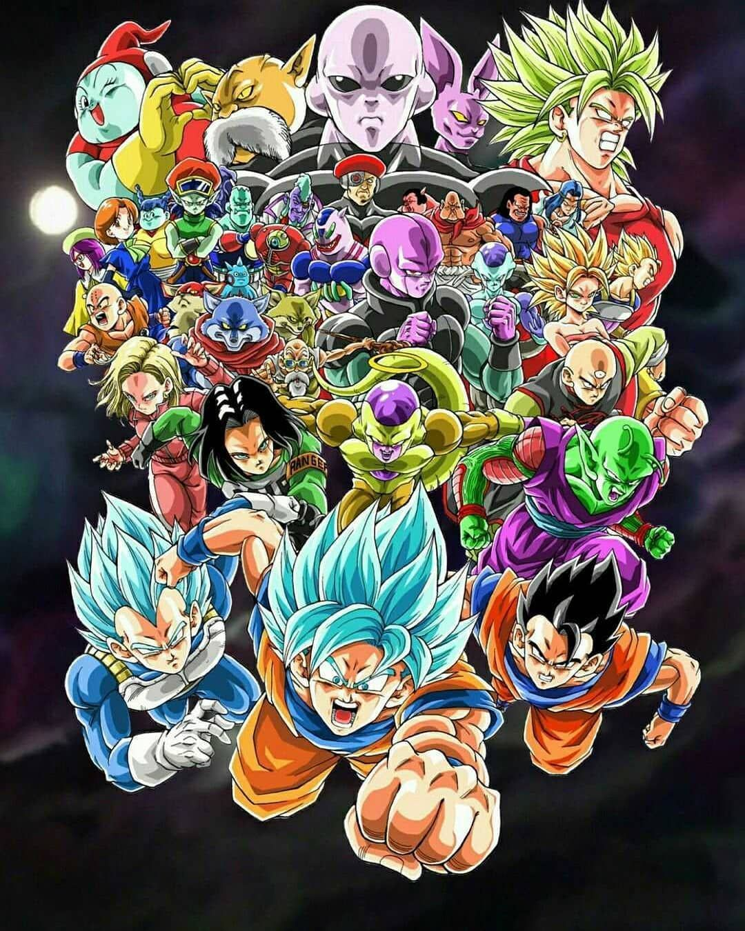 Dragon Ball Universe Fighters Wallpapers Top Free Dragon Ball
