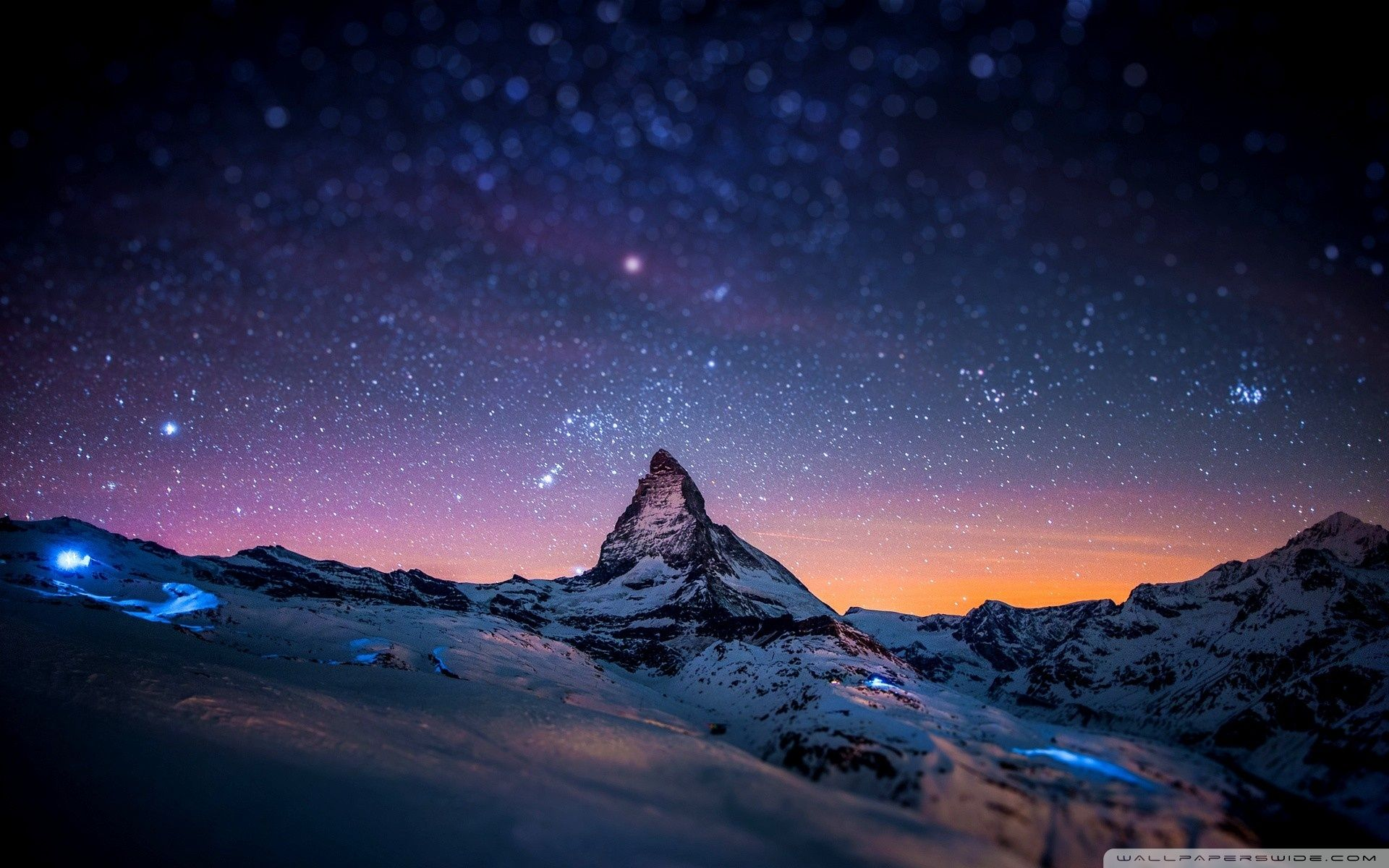 Night Mountain Wallpapers Top Free Night Mountain
