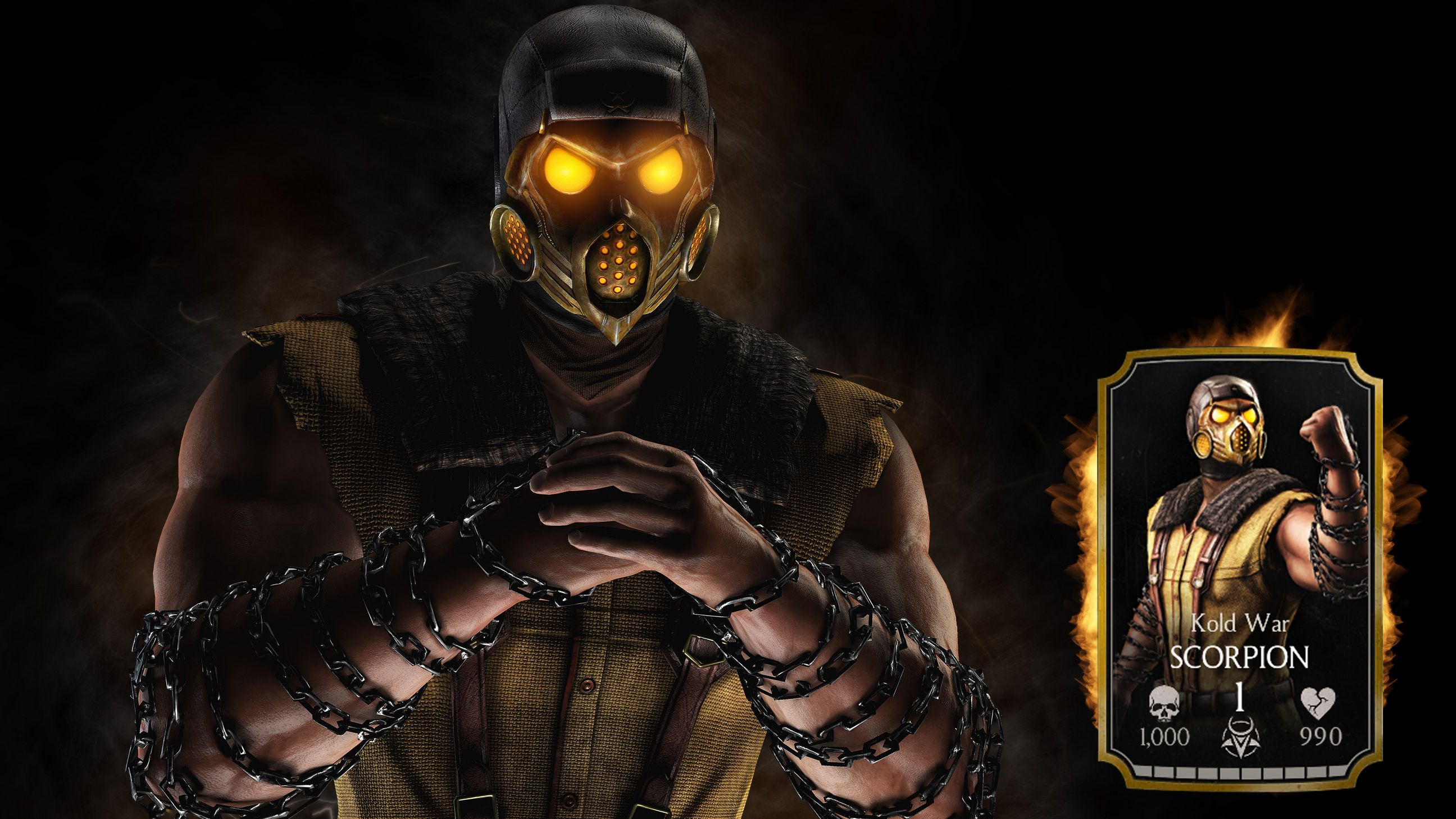 Mortal Kombat X Scorpion Wallpapers Top Free Mortal Kombat X