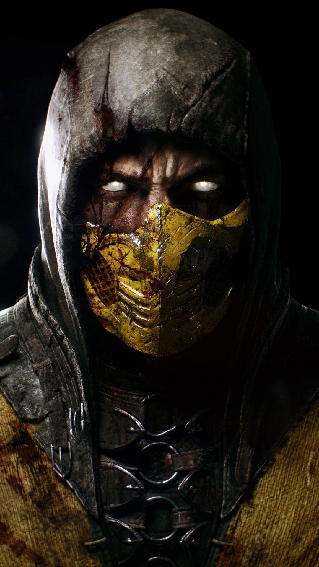 Mortal Kombat Scorpion Wallpapers Top Free Mortal Kombat
