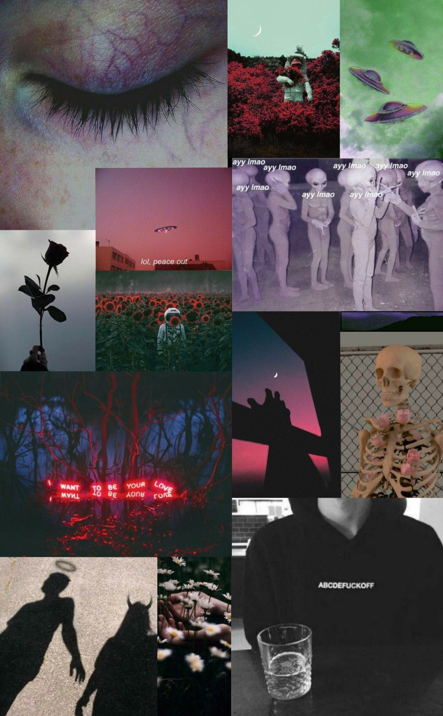 Sad Aesthetic Collage Wallpapers Top Free Sad Aesthetic Collage