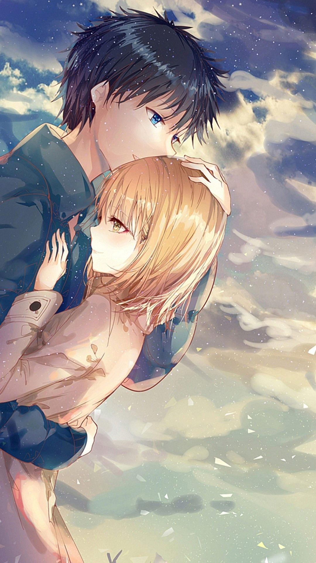 Unique anime wallpapers top free unique anime - Anime couple pictures ...