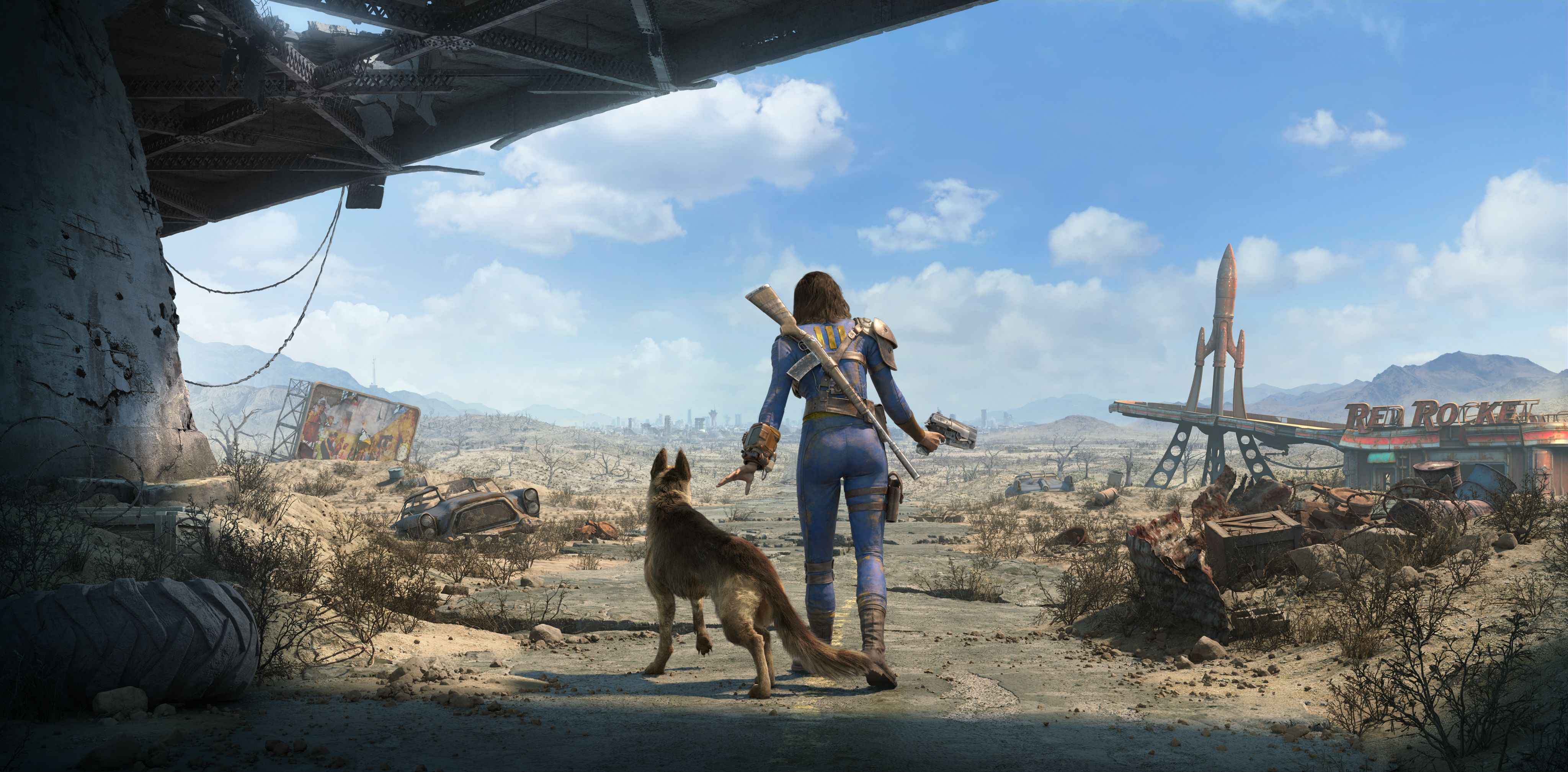Fallout 4 4k Wallpapers Top Free Fallout 4 4k Backgrounds Wallpaperaccess
