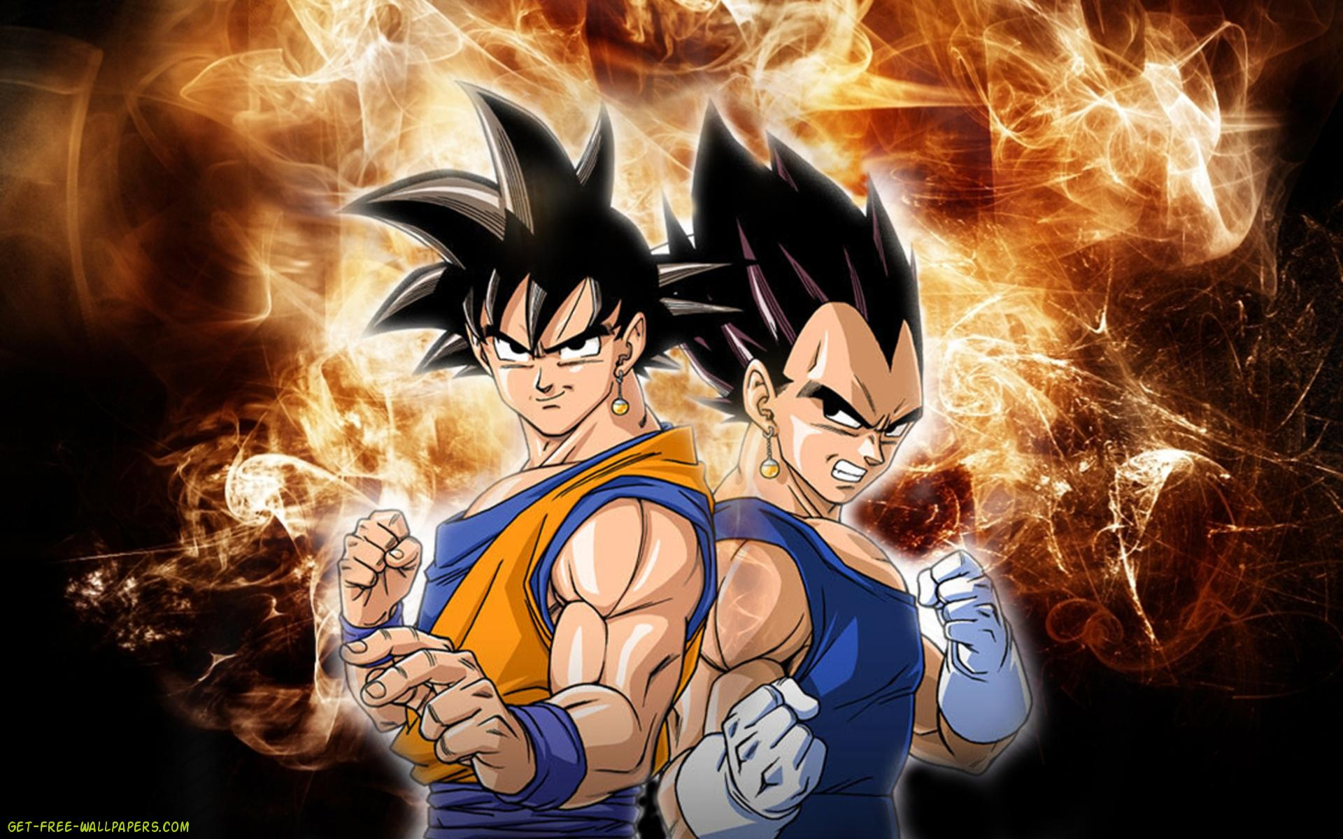 Goku And Vegeta Mobile Wallpaper