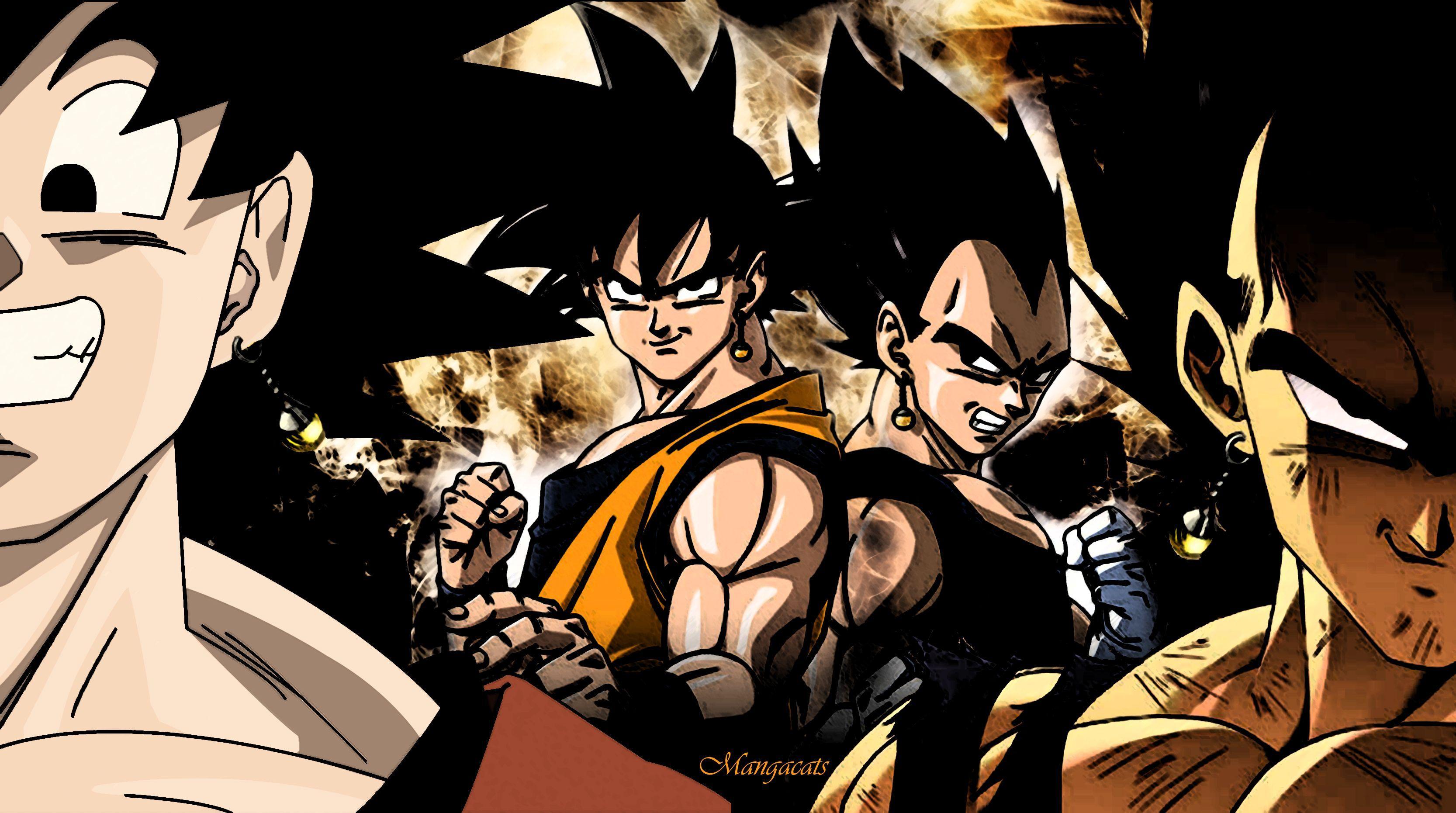 Goku And Vegeta Wallpapers Top Free Goku And Vegeta Backgrounds Wallpaperaccess