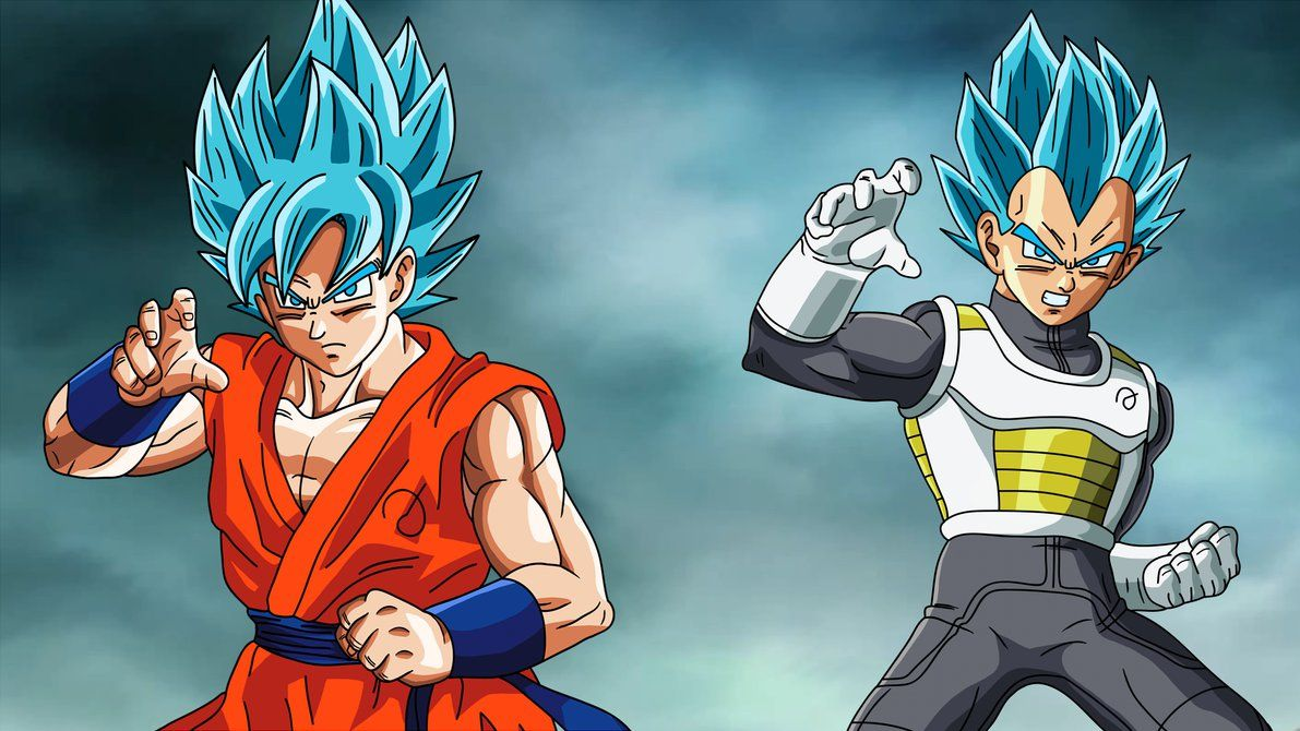 Dragon Ball Z Goku Vs Vegeta Wallpaper Gambarku