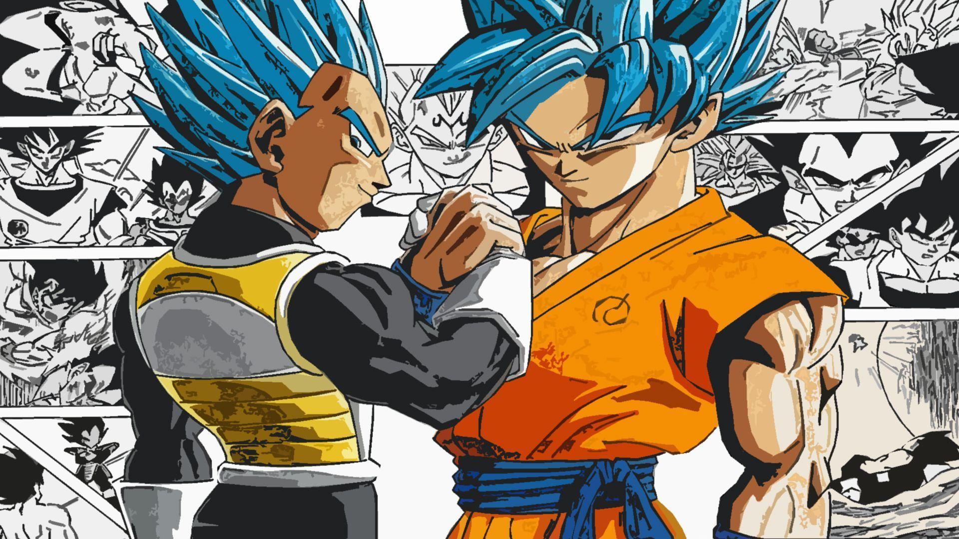 Goku And Vegeta Wallpapers Top Free Goku And Vegeta Backgrounds