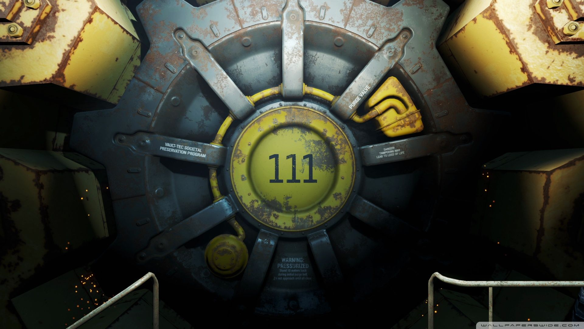 Fallout 4 Vault Wallpapers Top Free Fallout 4 Vault Backgrounds