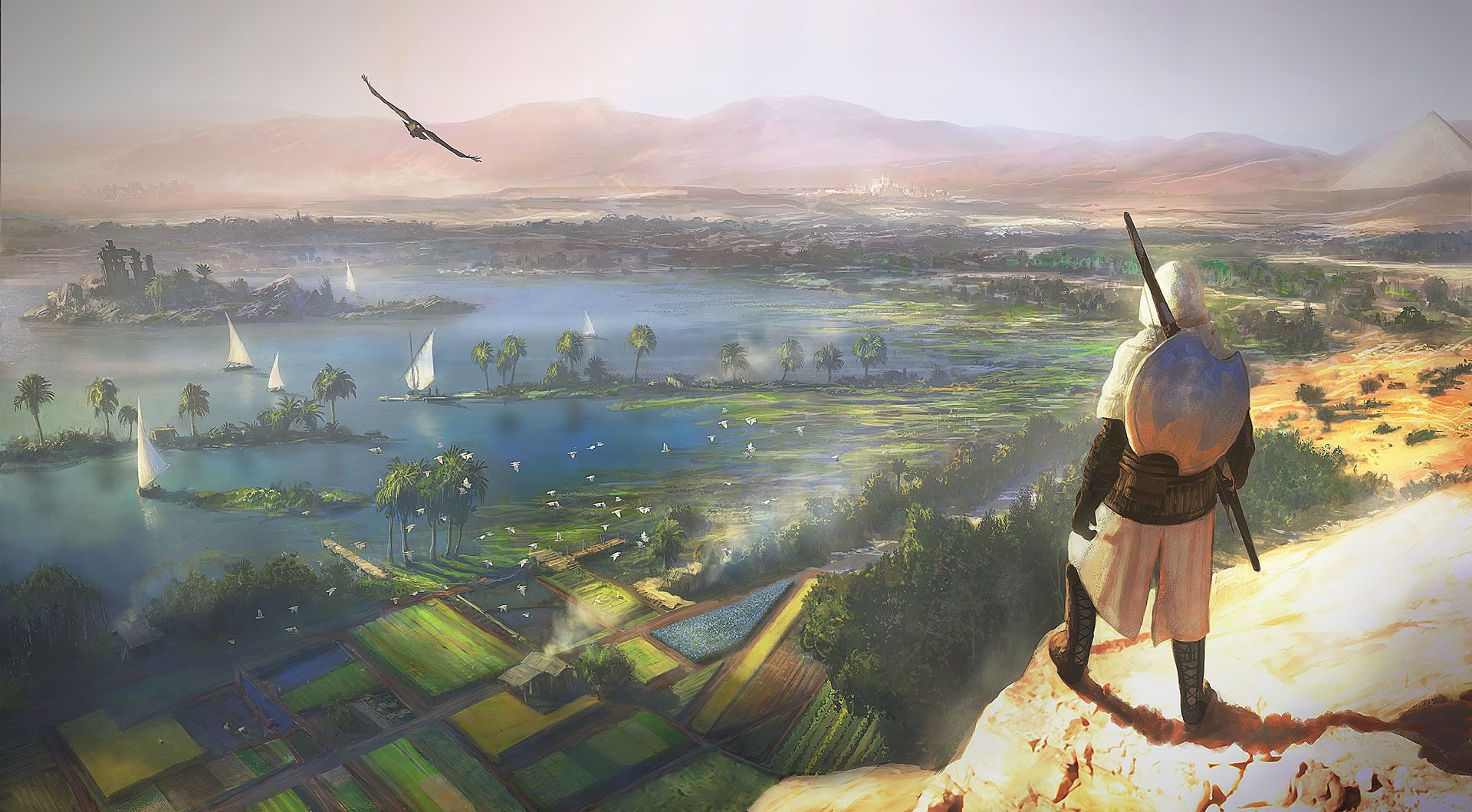 Assassin S Creed Origins Wallpapers Top Free Assassin S Creed