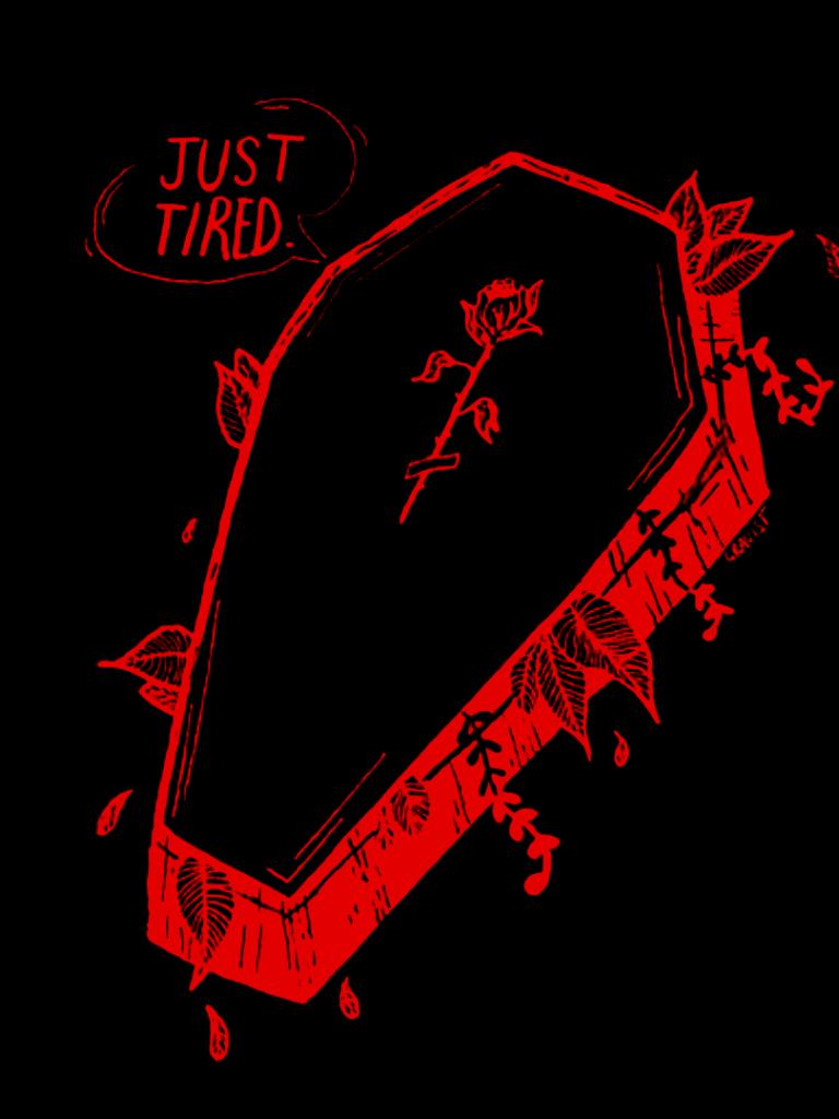 768x1024 Tải xuống miễn phí Tank Girl Nyx năm 2019 Thẩm mỹ màu đỏ