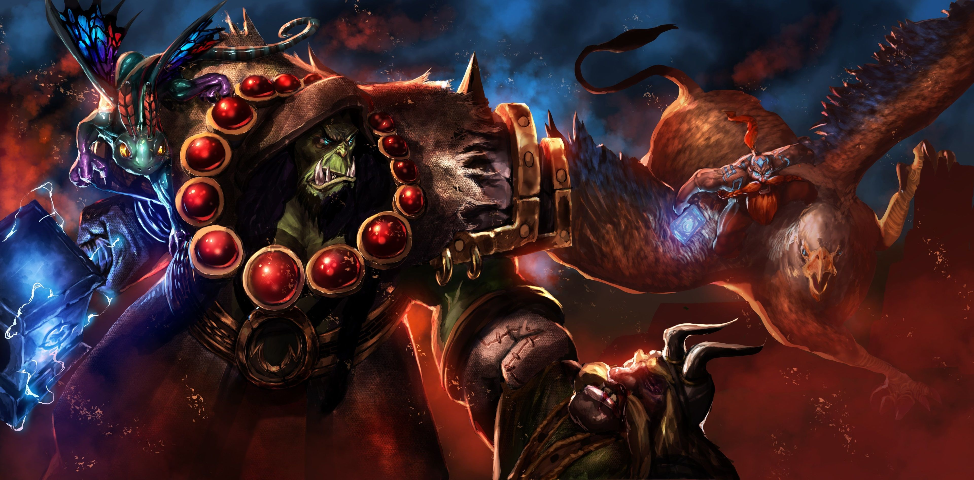 Heroes Of The Storm 4k Wallpapers Top Free Heroes Of The Storm