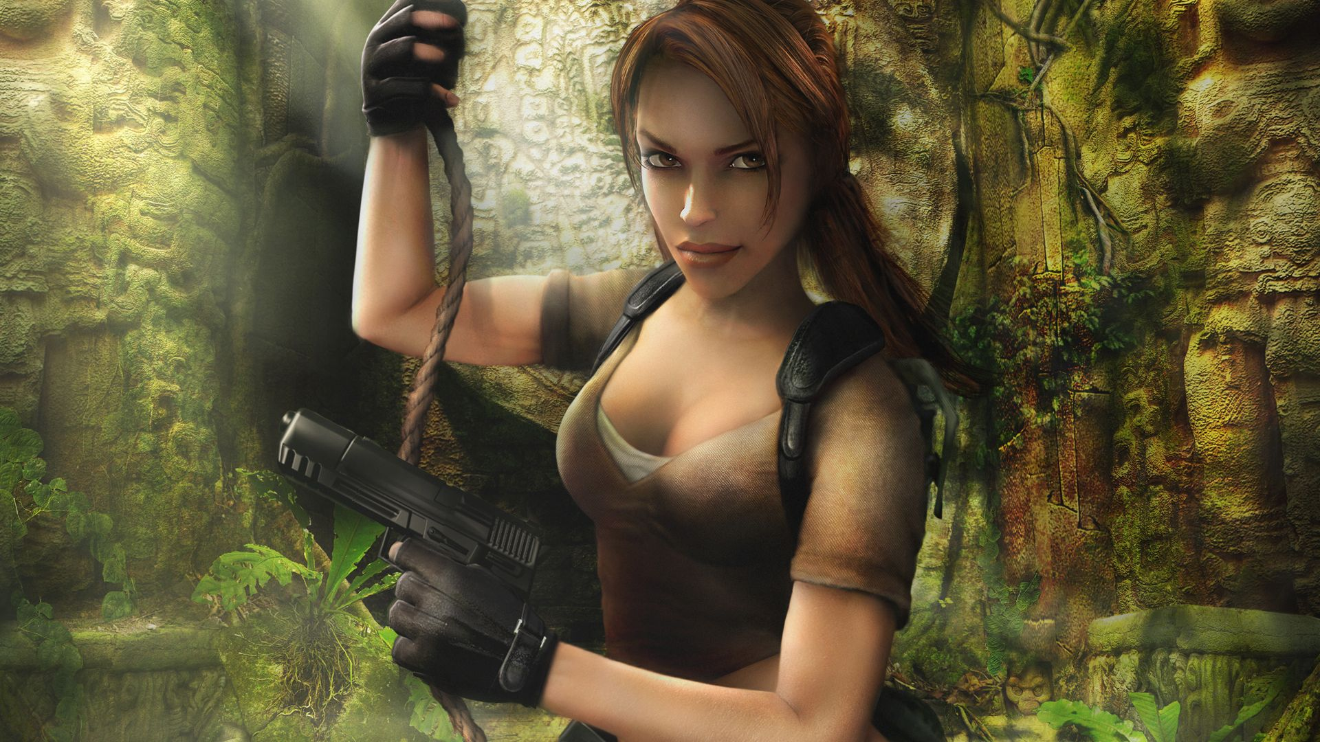 Tomb Raider Legend Wallpapers Top Free Tomb Raider Legend Backgrounds Wallpaperaccess