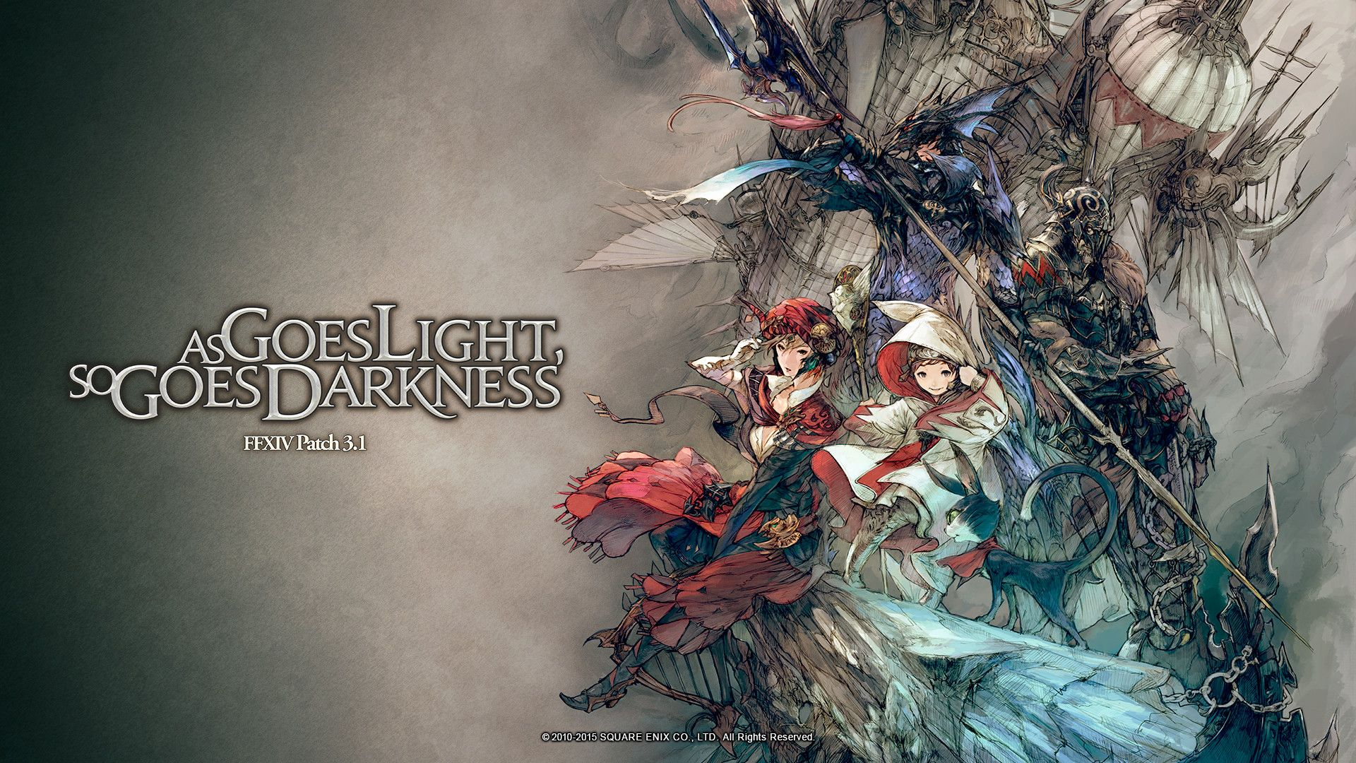 Ffxiv Wallpapers Top Free Ffxiv Backgrounds Wallpaperaccess