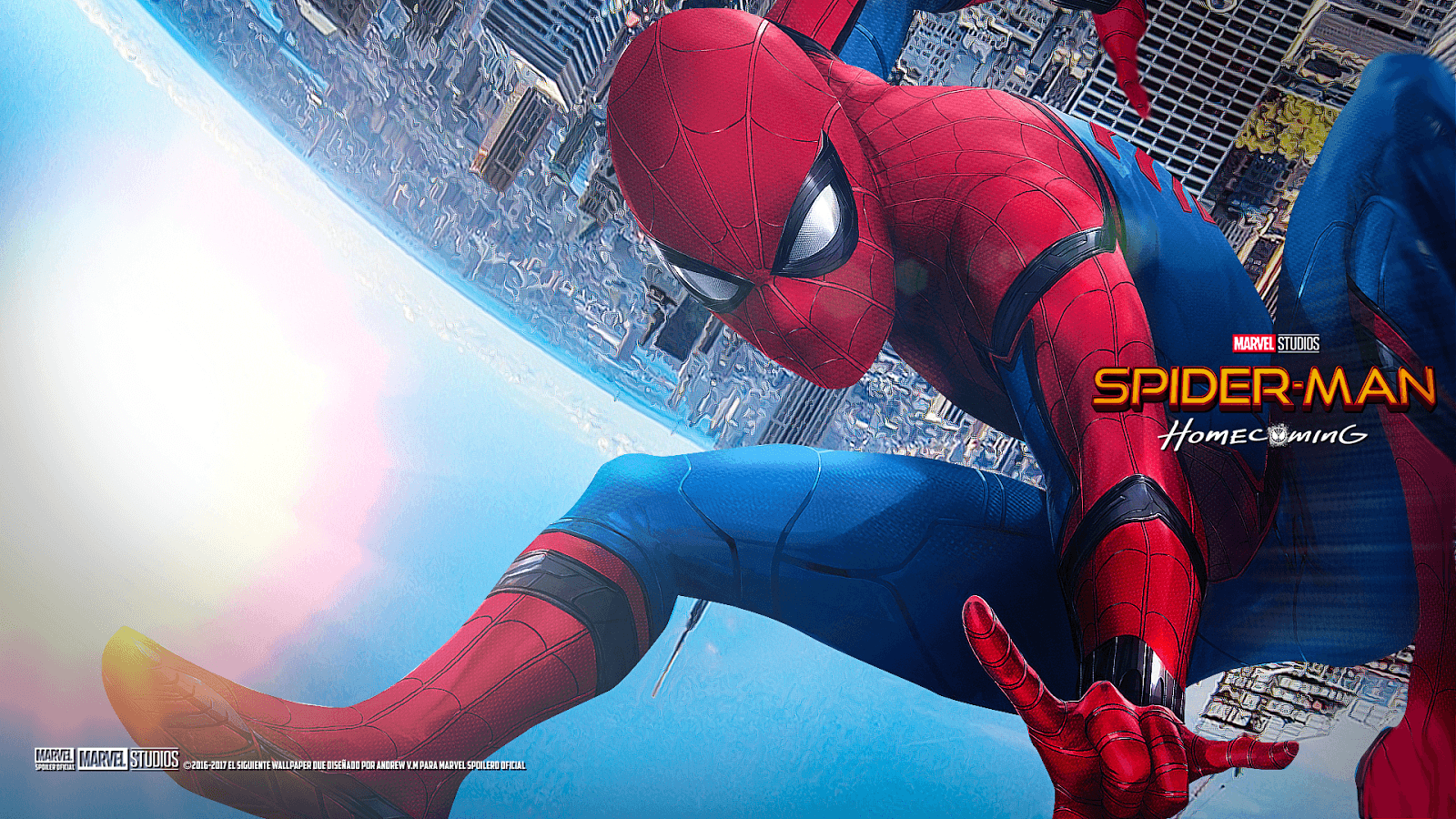 Spider-Man Homecoming Laptop Wallpapers