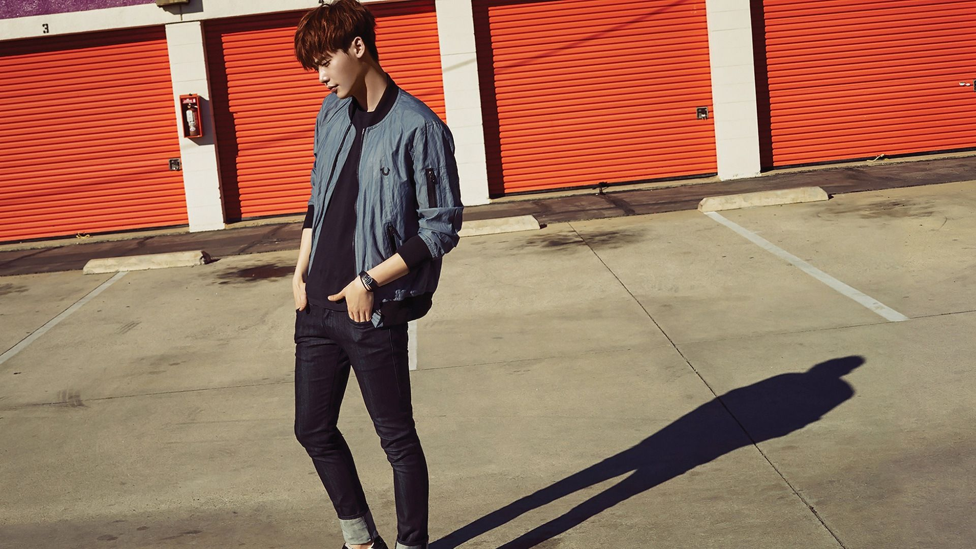 Download Wallpaper Lee Jong Suk Aesthetic HD