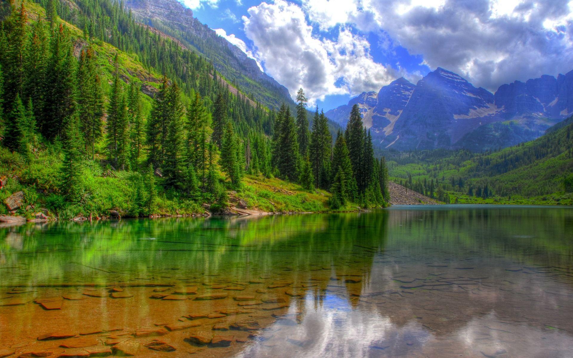 Nature Landscape Wallpapers Top Free Nature Landscape Backgrounds Wallpaperaccess