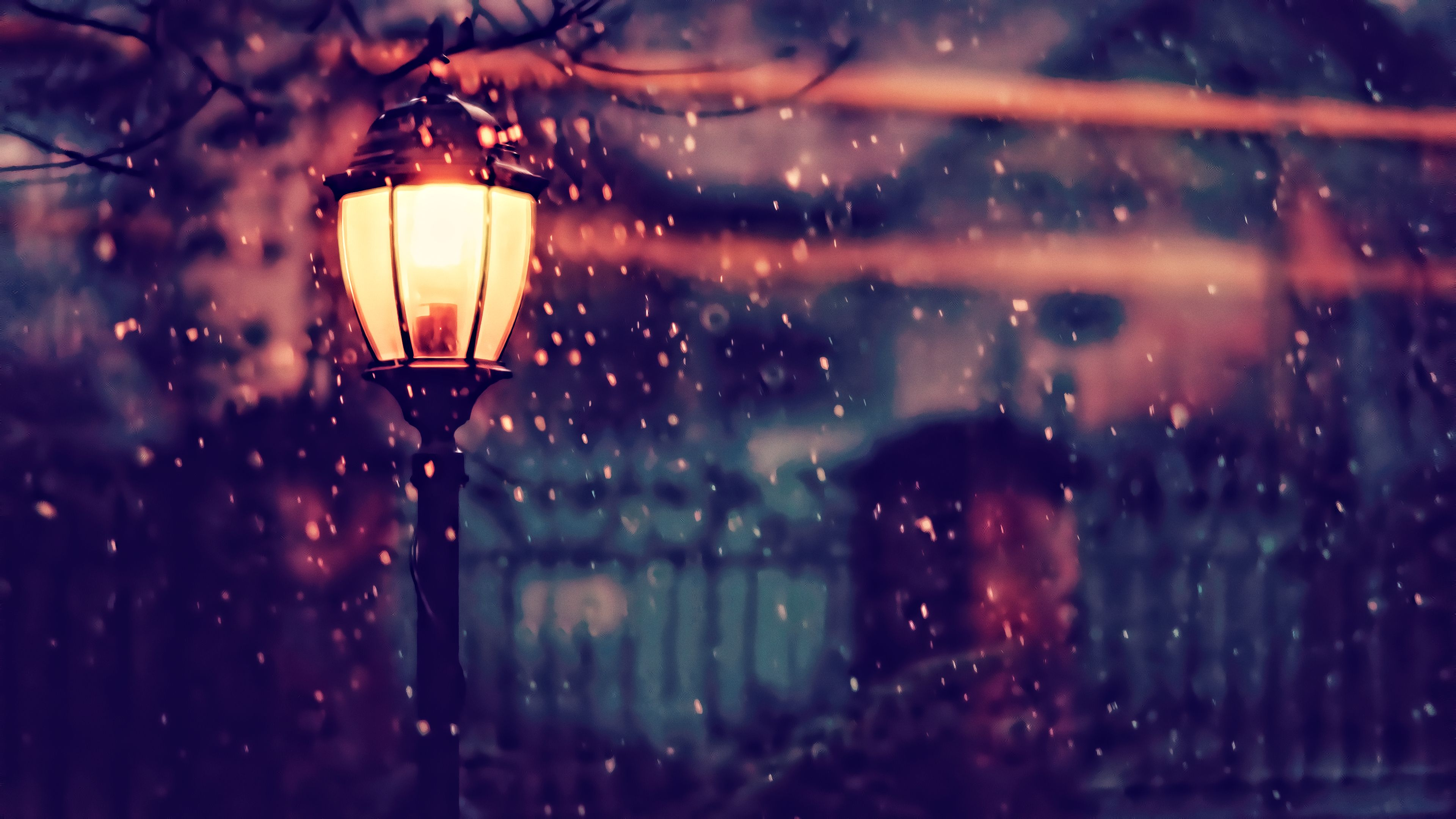 Winter Lights Wallpapers Top Free Winter Lights Backgrounds Wallpaperaccess