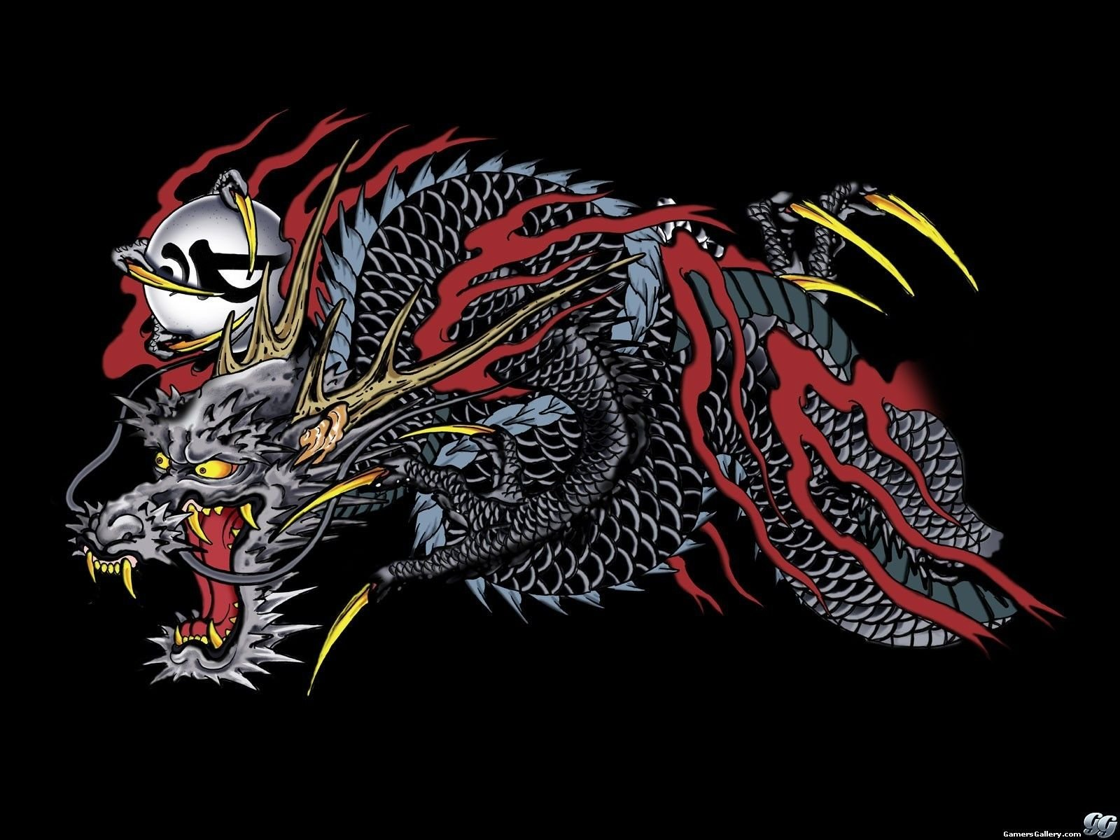 Yakuza Dragon Wallpapers Top Free Yakuza Dragon