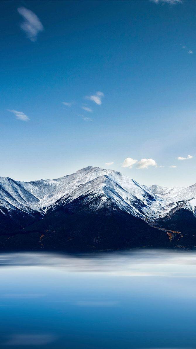 Mountains Winter Iphone Wallpaper 2