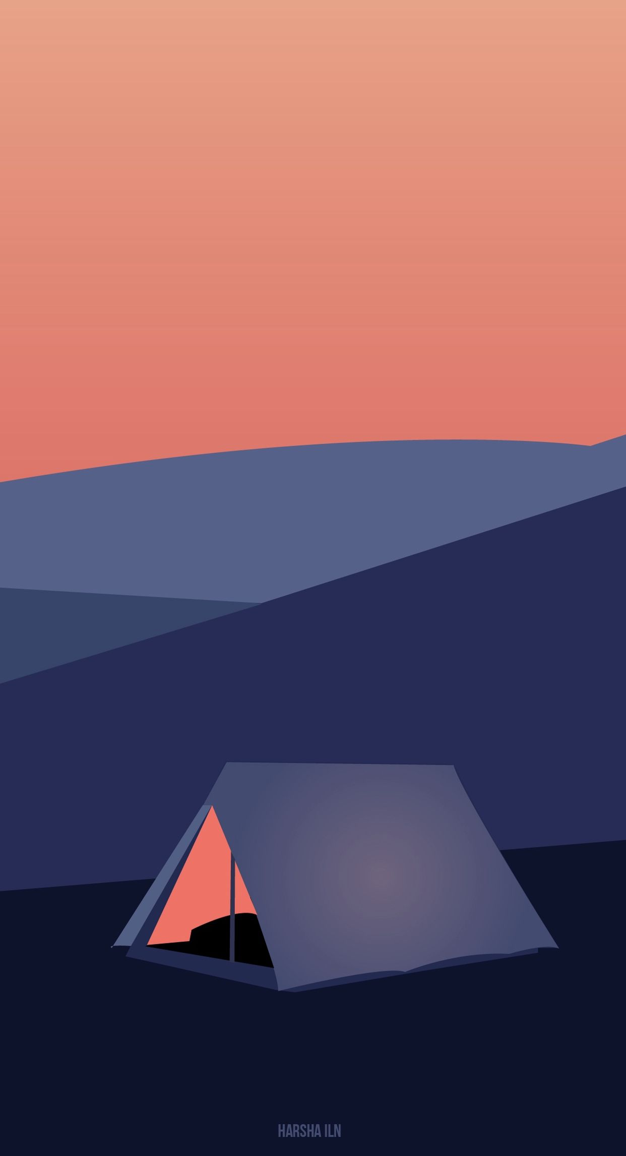 Minimalist Camping Wallpapers Top Free Minimalist Camping Backgrounds Wallpaperaccess