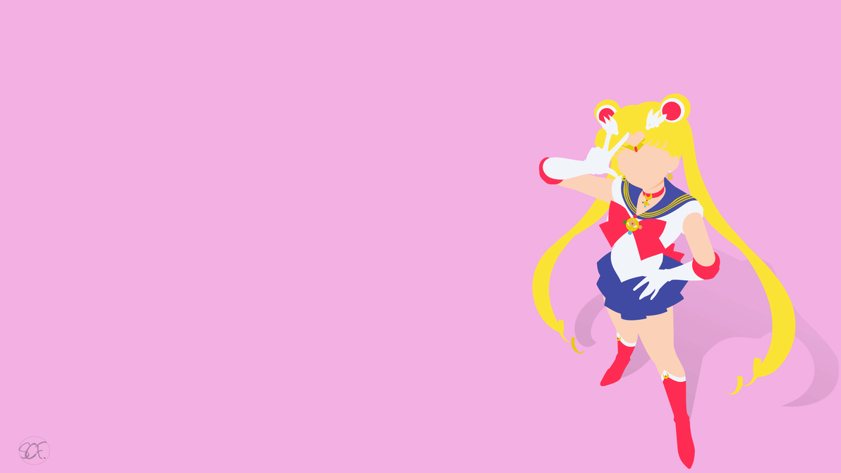 Sailor Moon Minimalist Wallpapers Top Free Sailor Moon Minimalist Backgrounds Wallpaperaccess