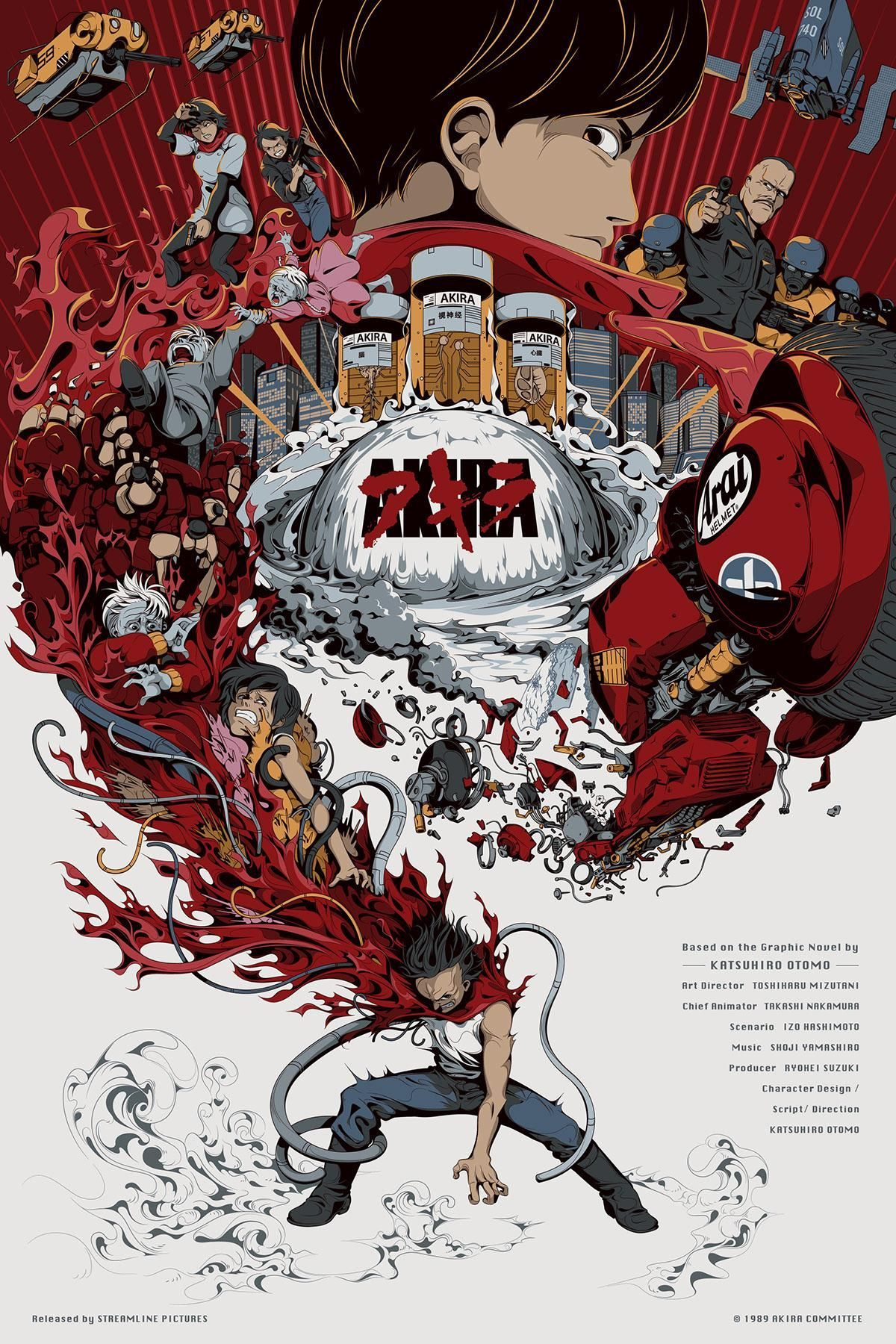 Akira Movie Poster Wallpapers Top Free Akira Movie Poster Backgrounds Wallpaperaccess