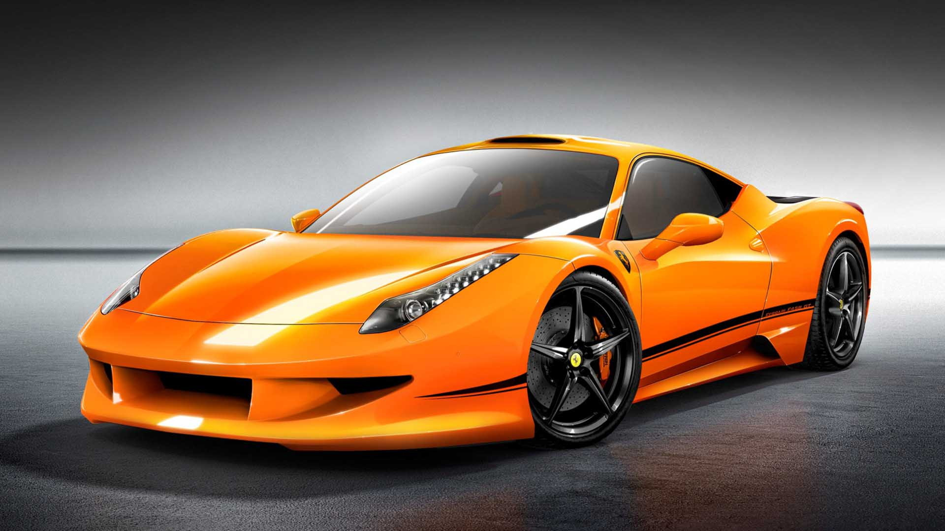 Orange Car Wallpapers Top Free Orange Car Backgrounds Wallpaperaccess