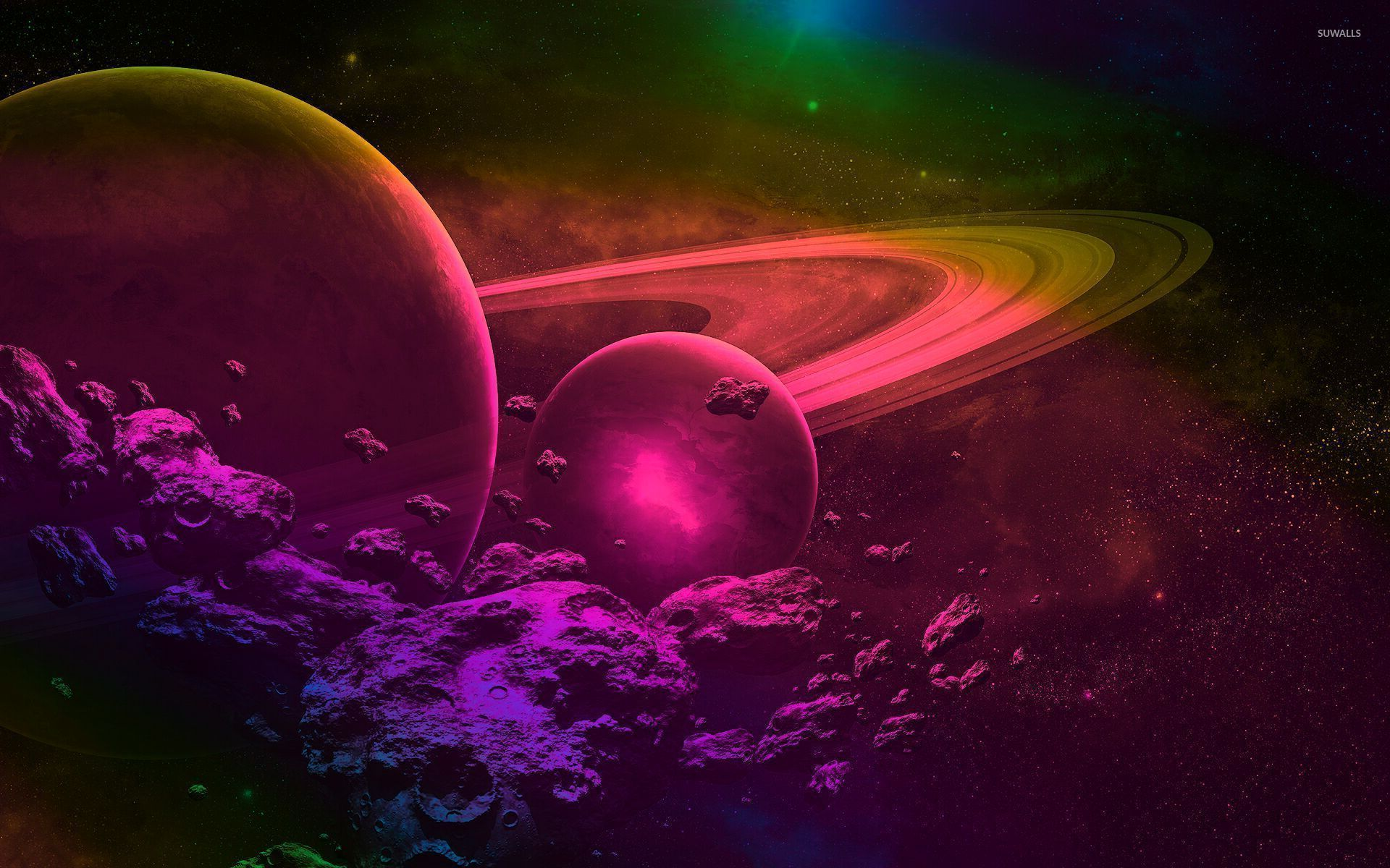 Pink universe wallpapers top free pink universe - Pink space wallpaper ...