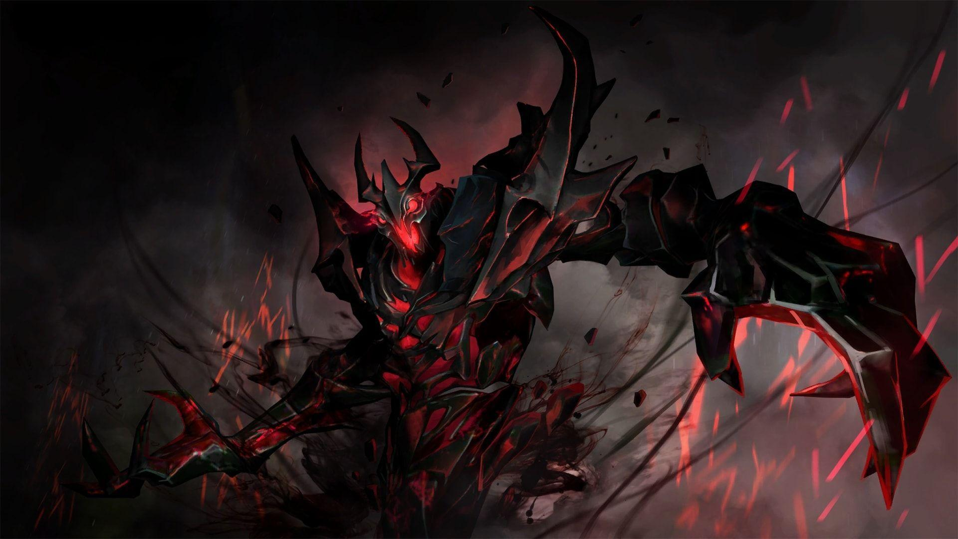 Shadow Fiend Wallpapers Top Free Shadow Fiend Backgrounds Wallpaperaccess