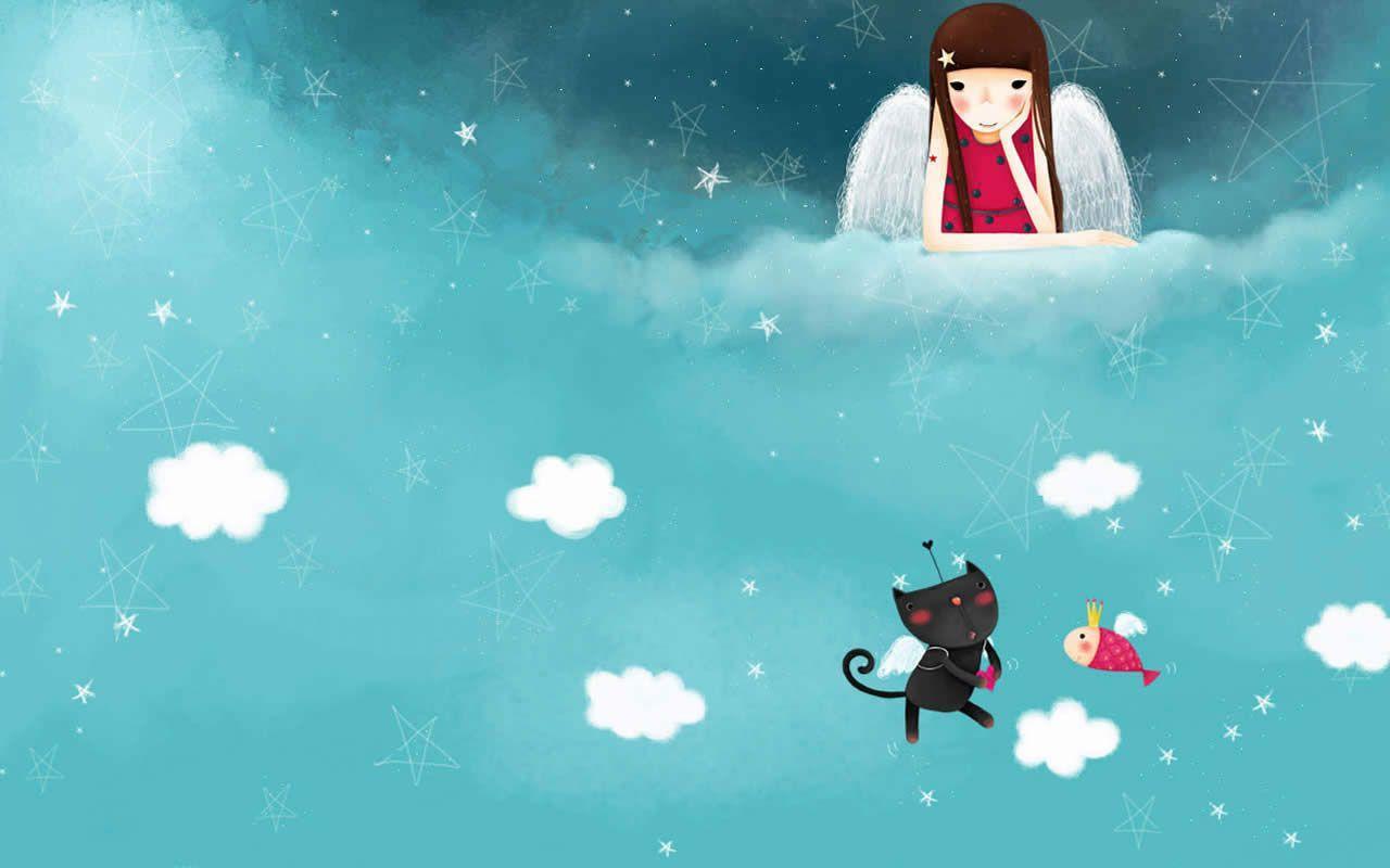 "1024x768 Anime Korea Cute Wallpaper Hd | Wallpapergenk"">"
