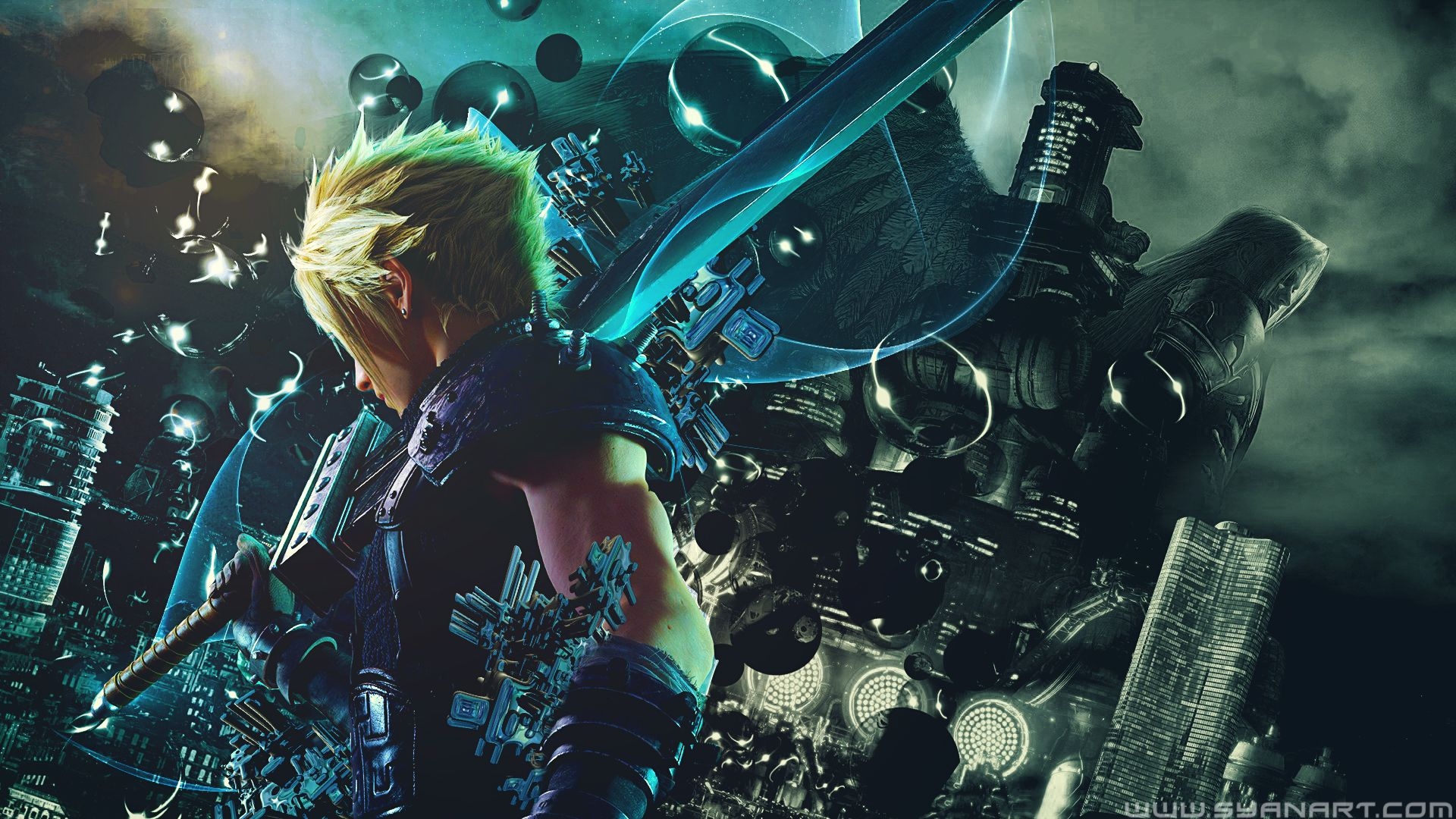 Final Fantasy Vii Remake Wallpapers Top Free Final Fantasy Vii