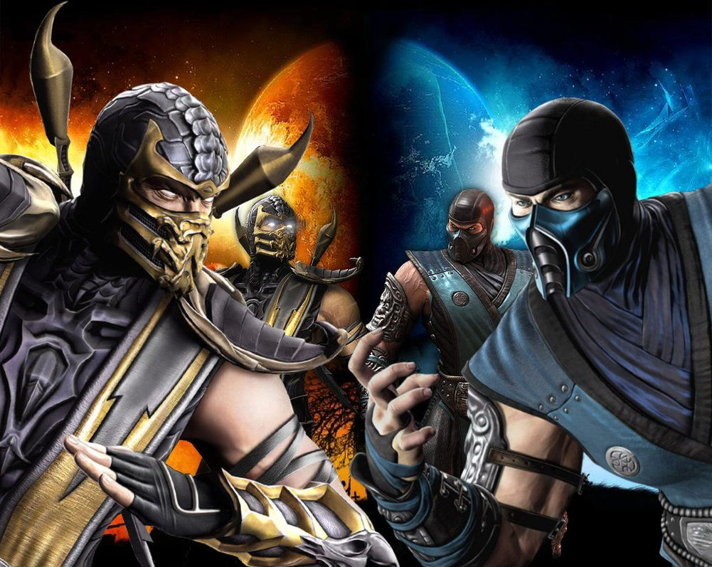 45 Best Free Mortal Kombat Scorpion Vs Sub Zero Wallpapers