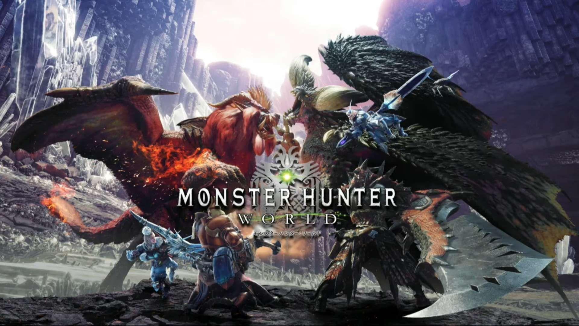 Monster Hunter World Wallpapers Top Free Monster Hunter World