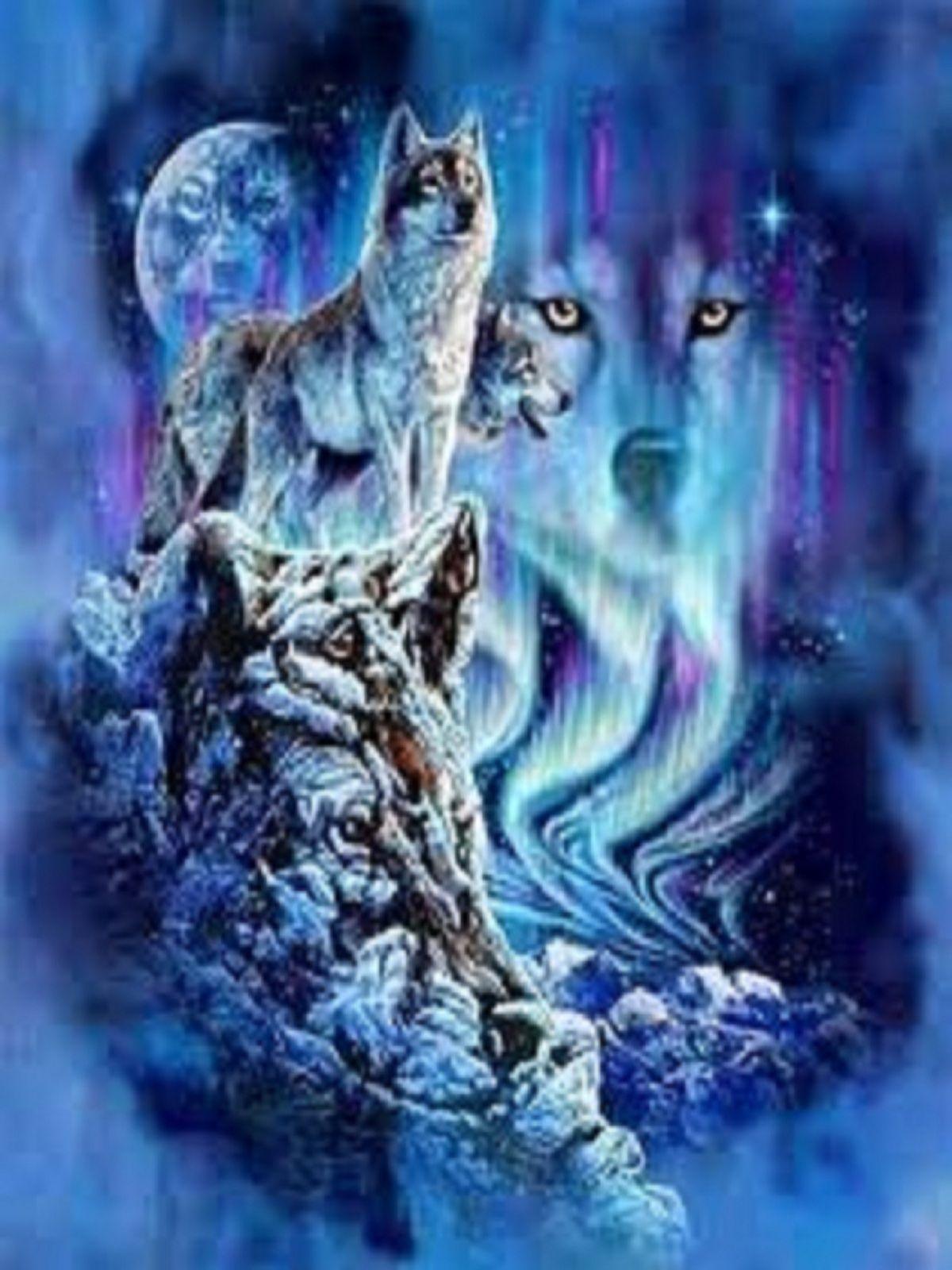 Blue Spirit Wolf Wallpapers Top Free Blue Spirit Wolf
