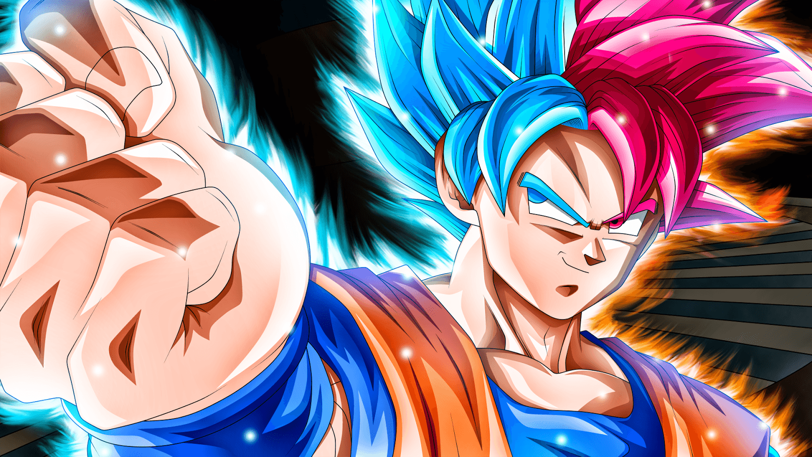 Goku Super Saiyan God Wallpapers Top Free Goku Super Saiyan God