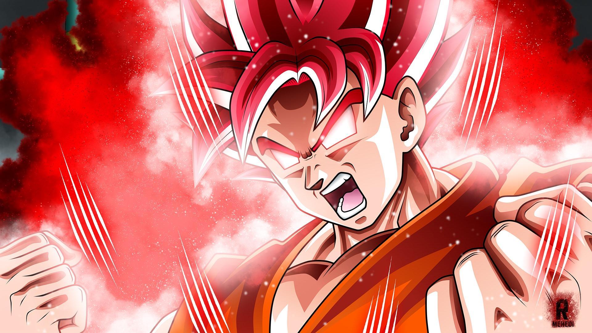 1024x1556 Goku SSJ God Wallpapers