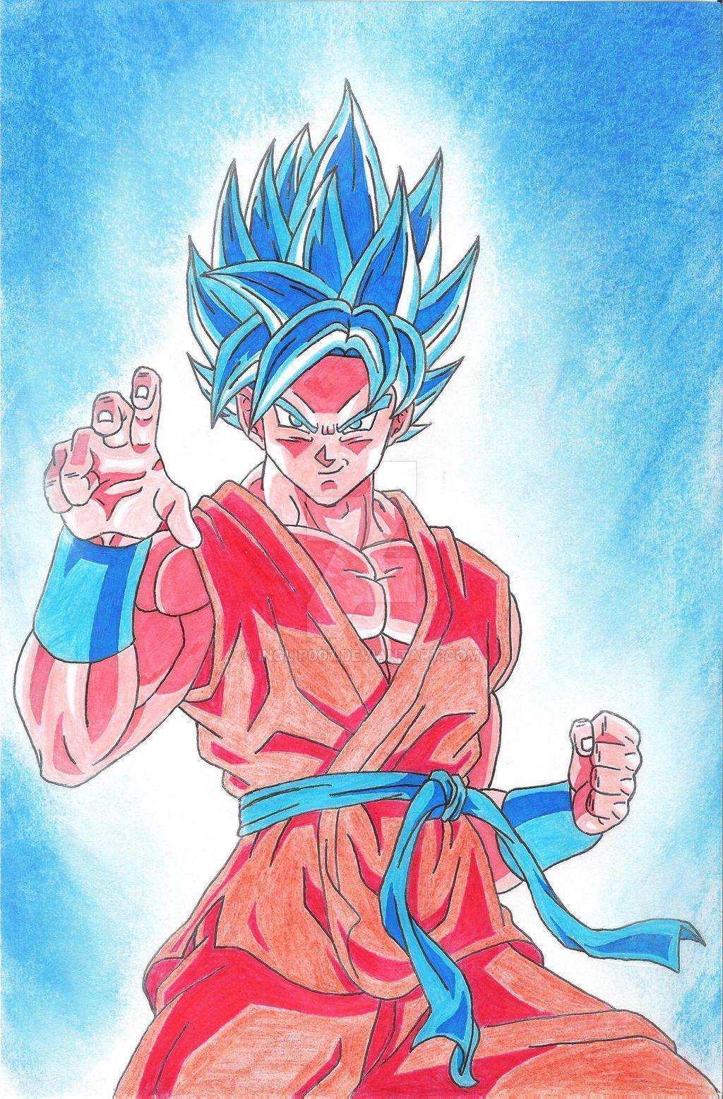 Goku Super Saiyan God Wallpapers Top Free Goku Super Saiyan God