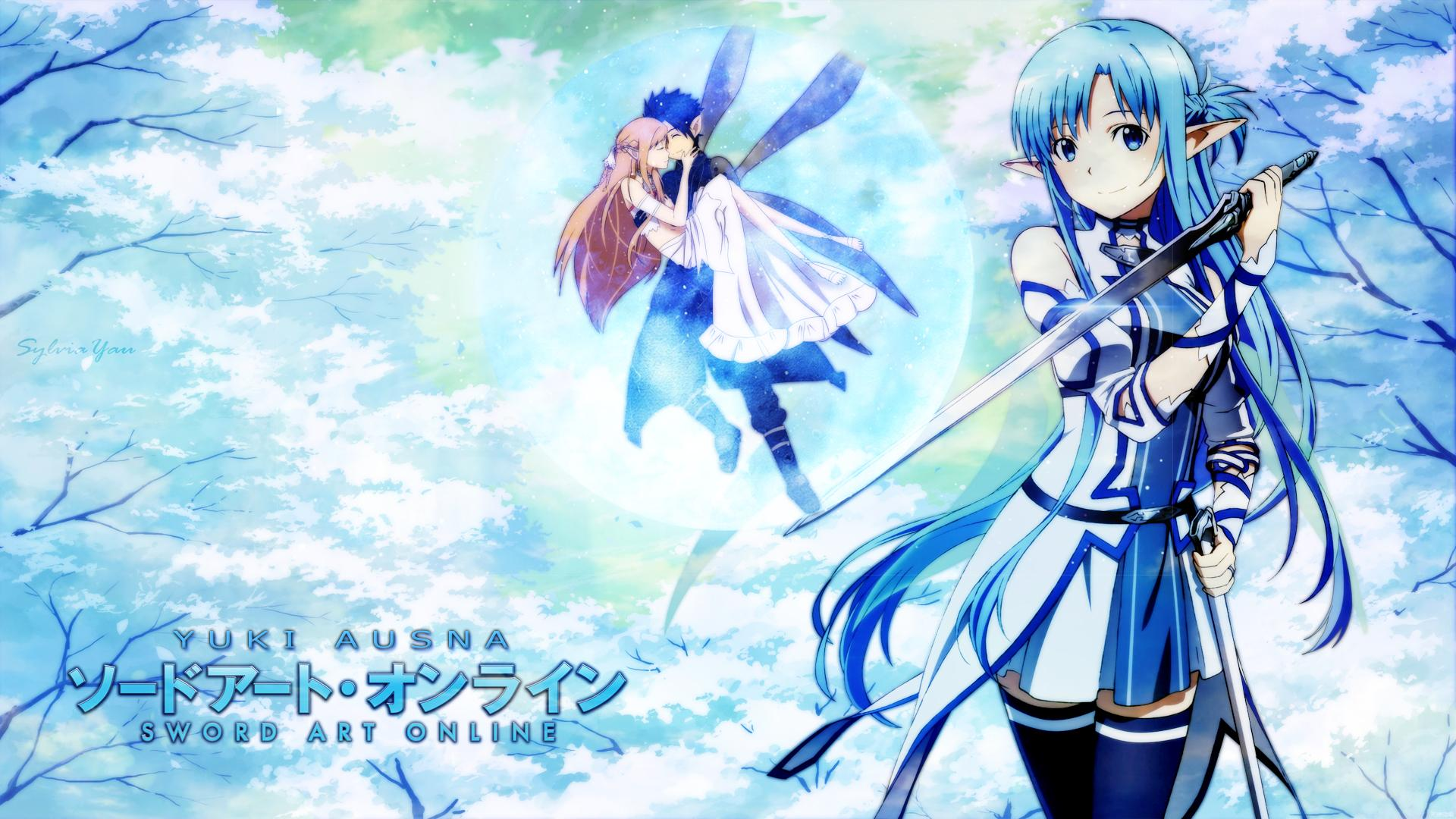 Wallpaper Sword Art Online Asuna und Yuuki by Asukij on