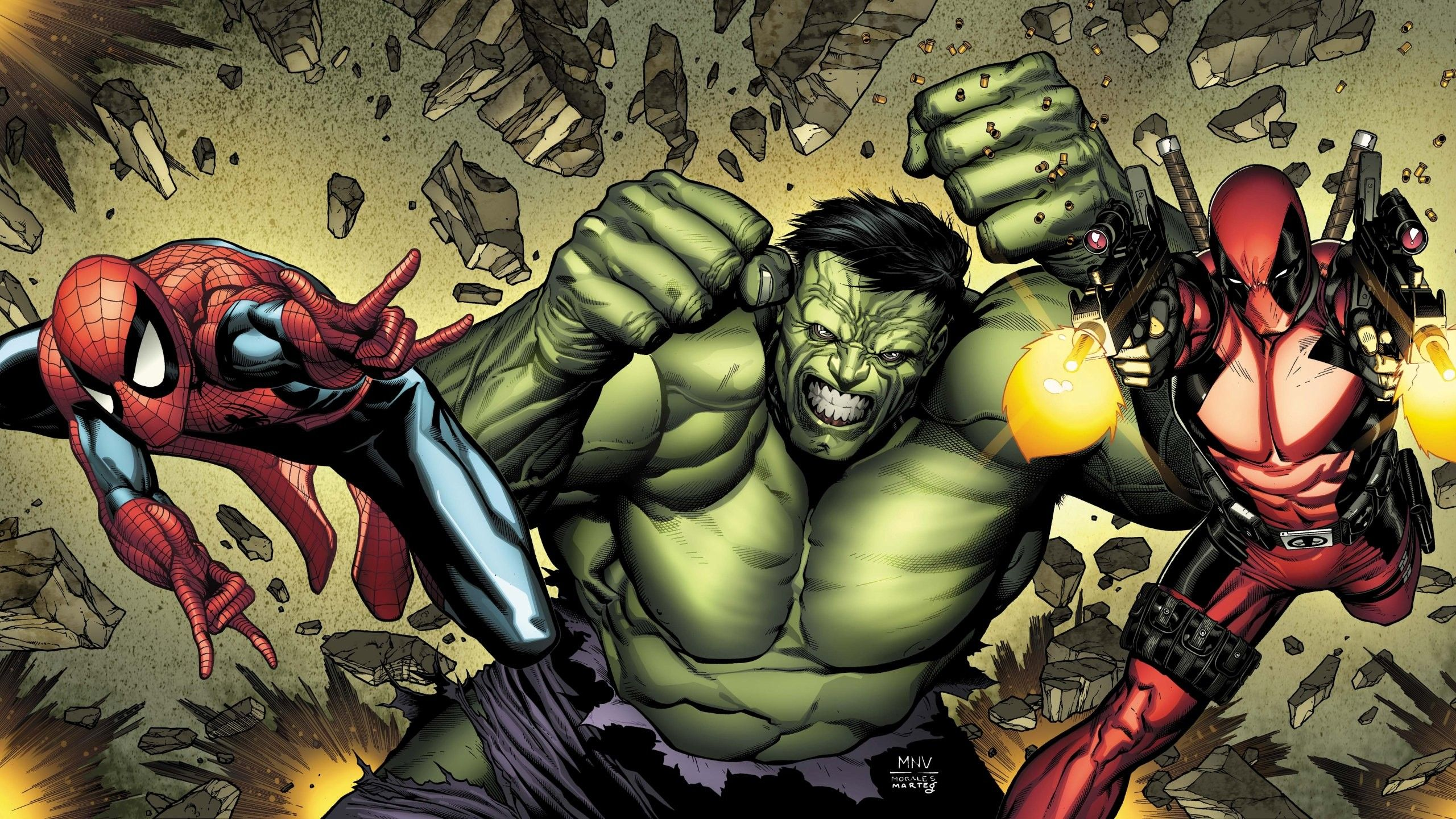 Hulk Vs Deadpool Wallpapers Top Free Hulk Vs Deadpool Backgrounds