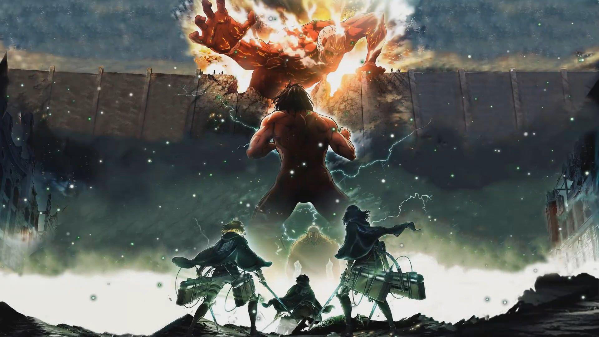 1920x1080 Attack On Titan Anime Animated Wallpaper